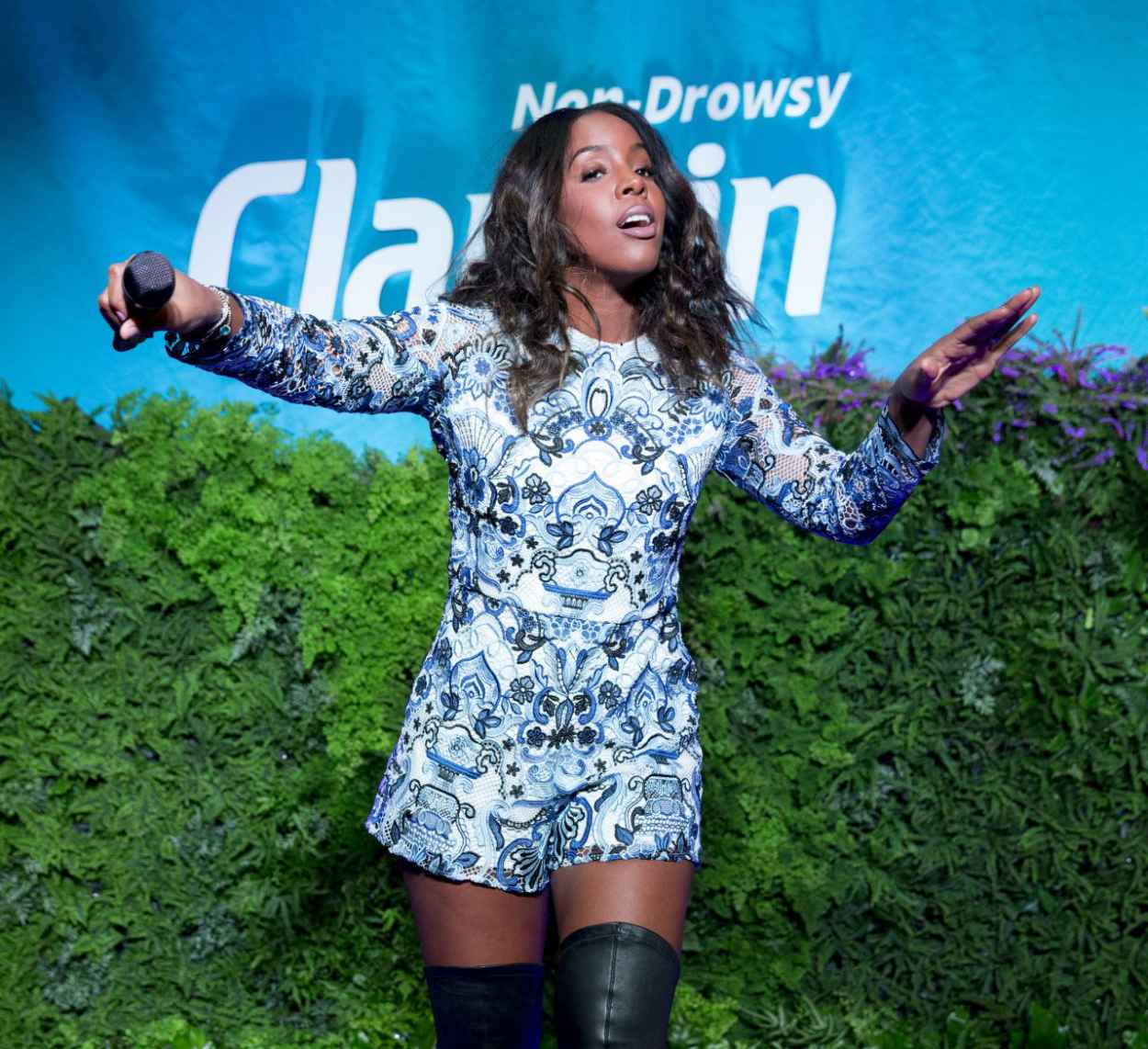Kelly Rowland - Spring Kickoff With Claritin Event in New York City-2