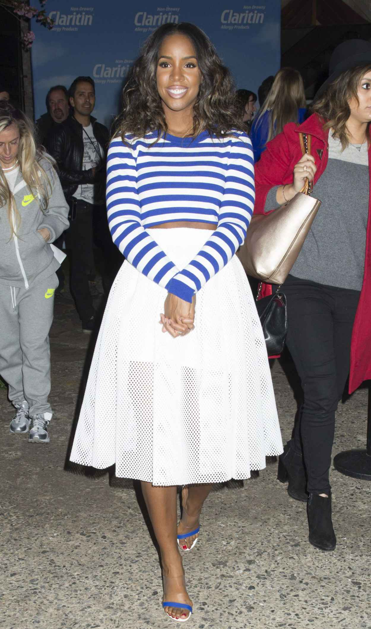 Kelly Rowland - Spring Kickoff With Claritin Event in New York City-5