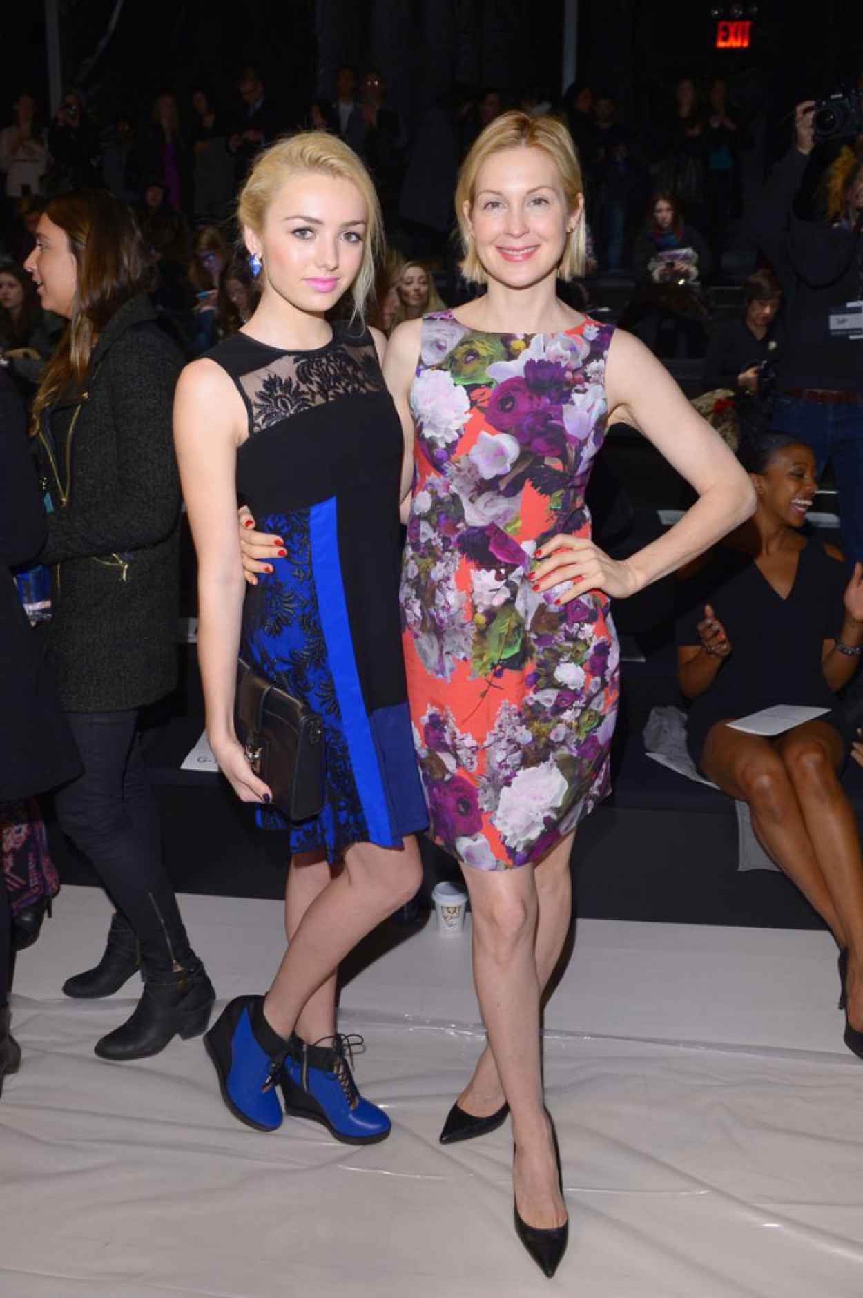 Kelly Rutherford at Nanette Lepore Fashion Show in New York City, Feb. 2015-2