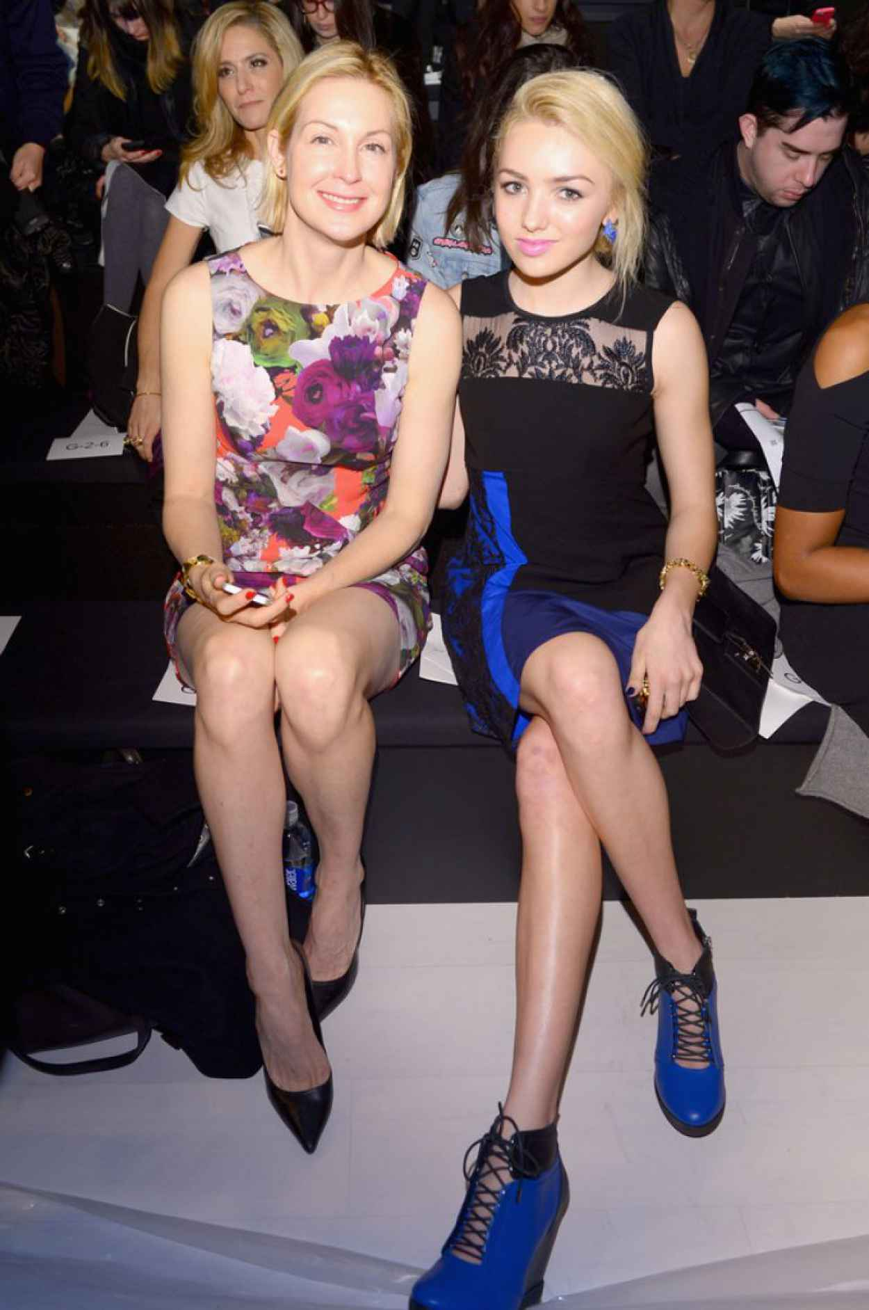 Kelly Rutherford at Nanette Lepore Fashion Show in New York City, Feb. 2015-3
