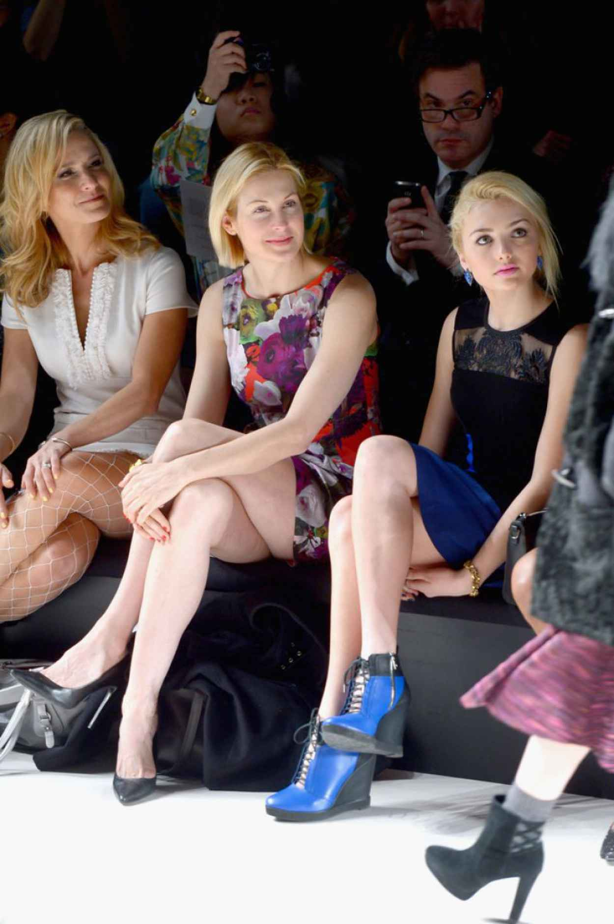 Kelly Rutherford at Nanette Lepore Fashion Show in New York City, Feb. 2015-4