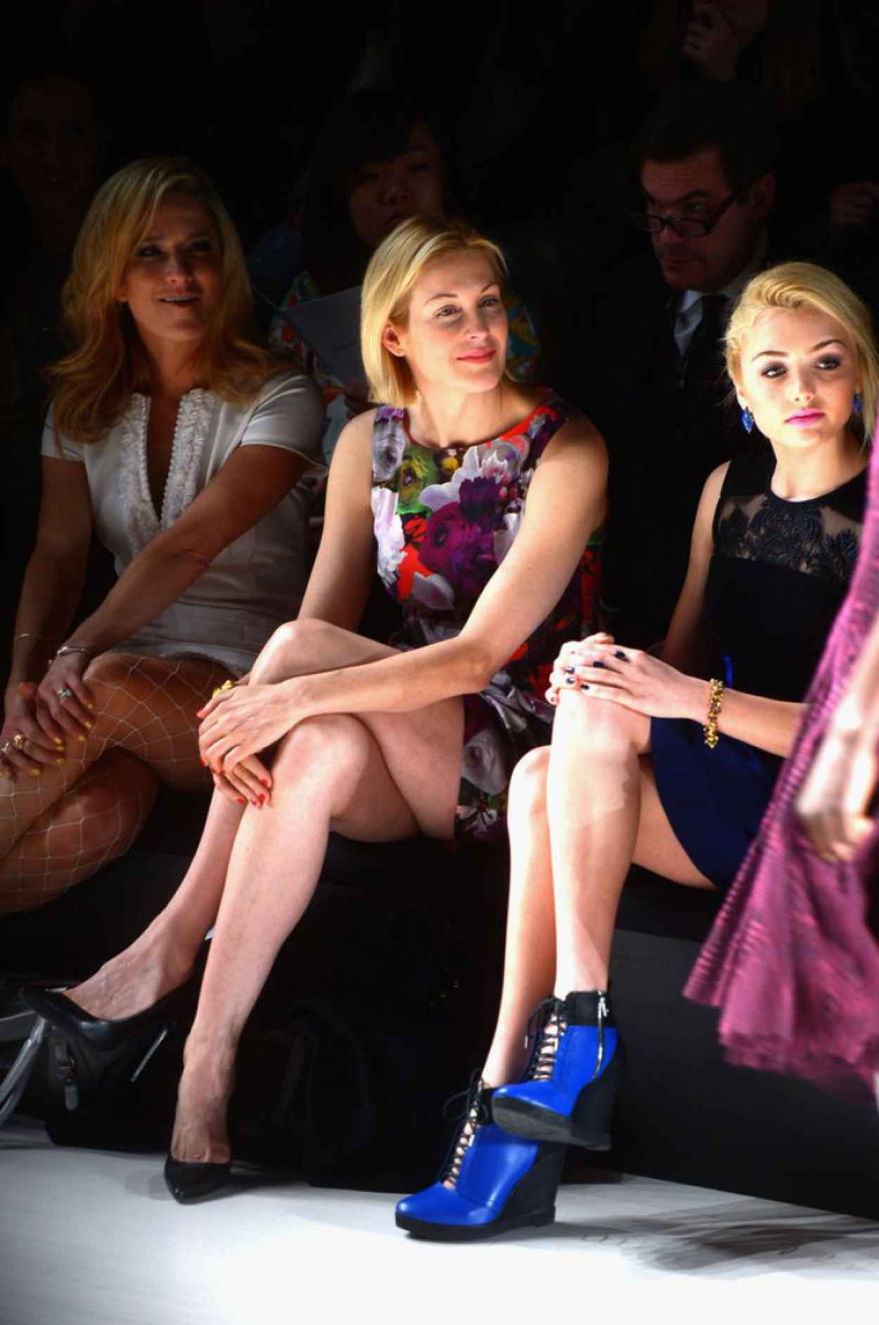 Kelly Rutherford at Nanette Lepore Fashion Show in New York City, Feb. 2015-5