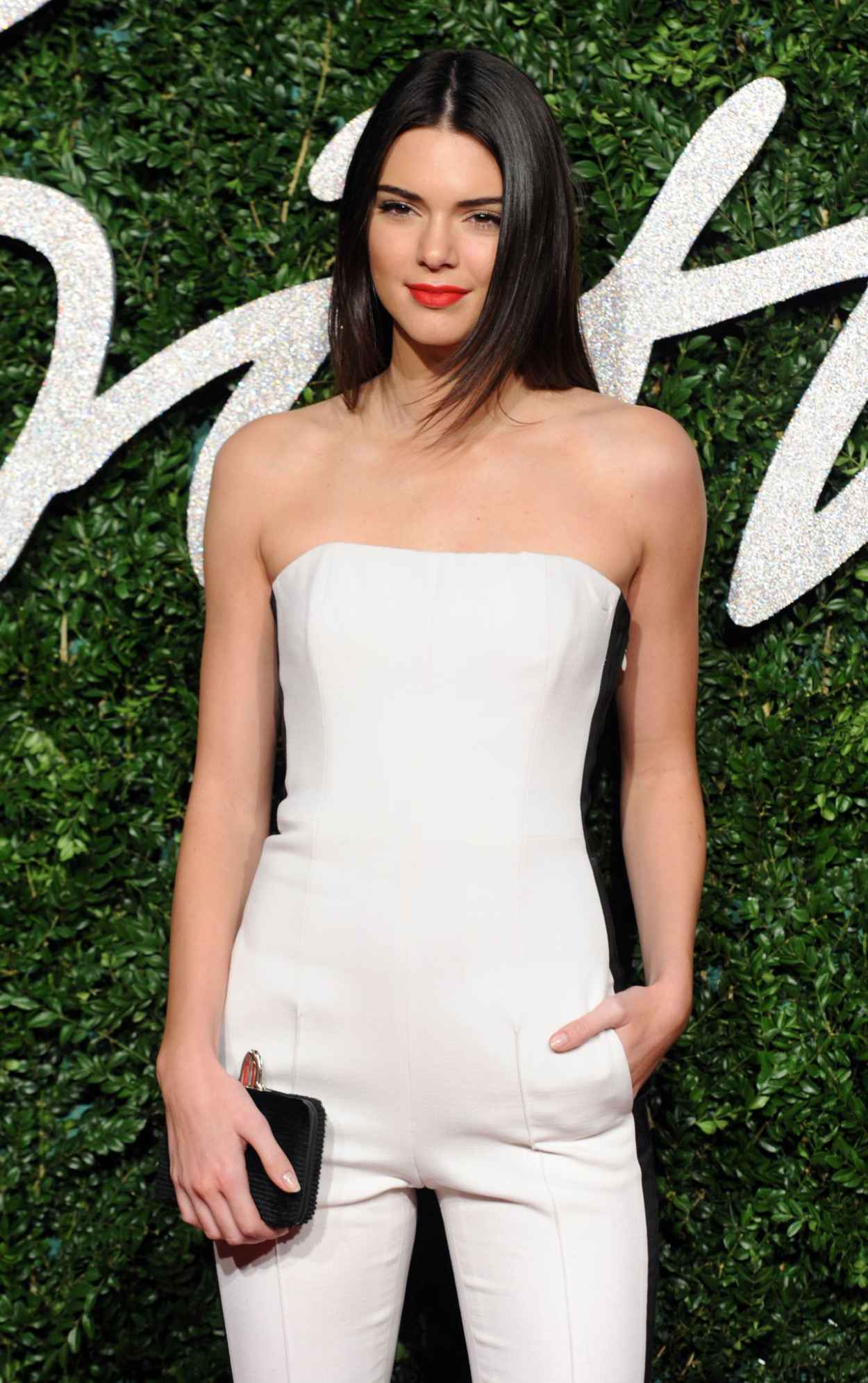 Kendall Jenner 2015 British Fashion Awards In London