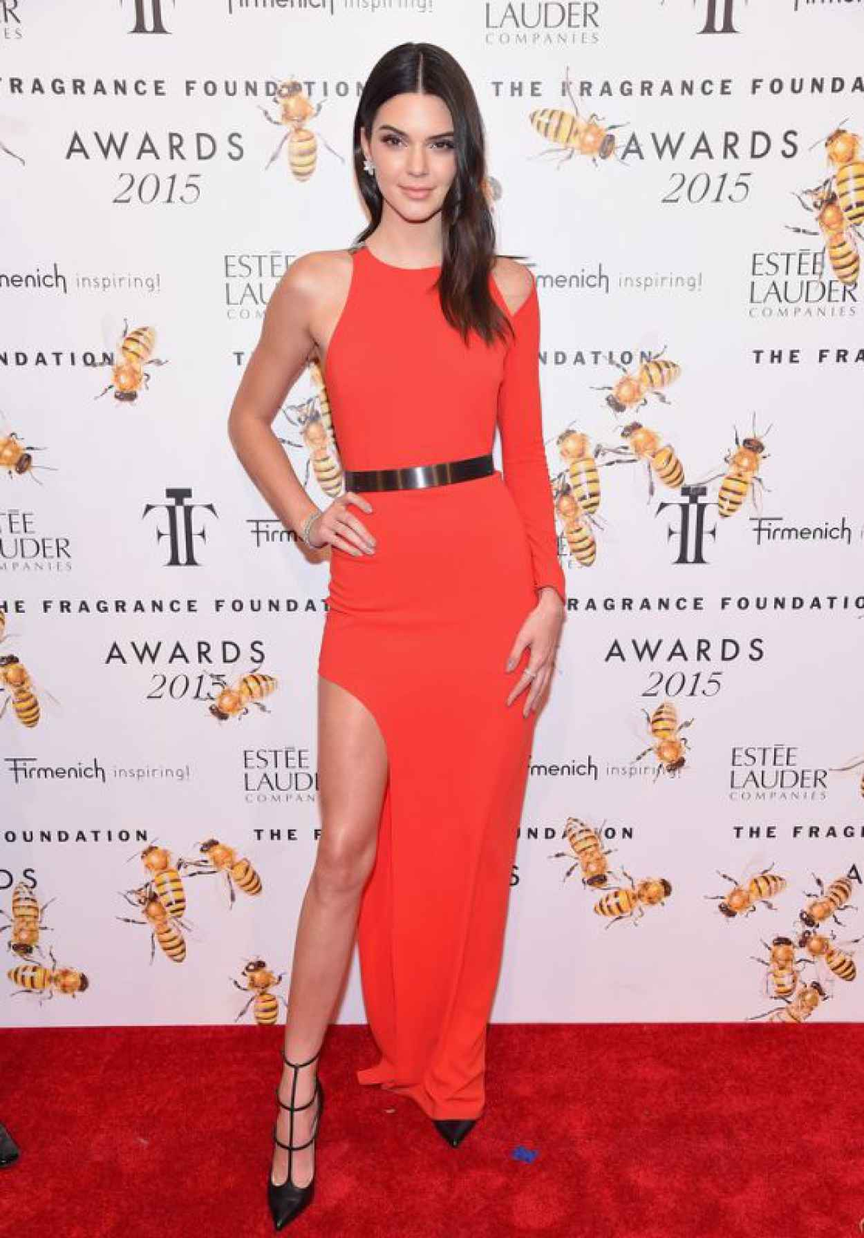 Kendall Jenner - 2015 Fragrance Foundation Awards in NYC-1