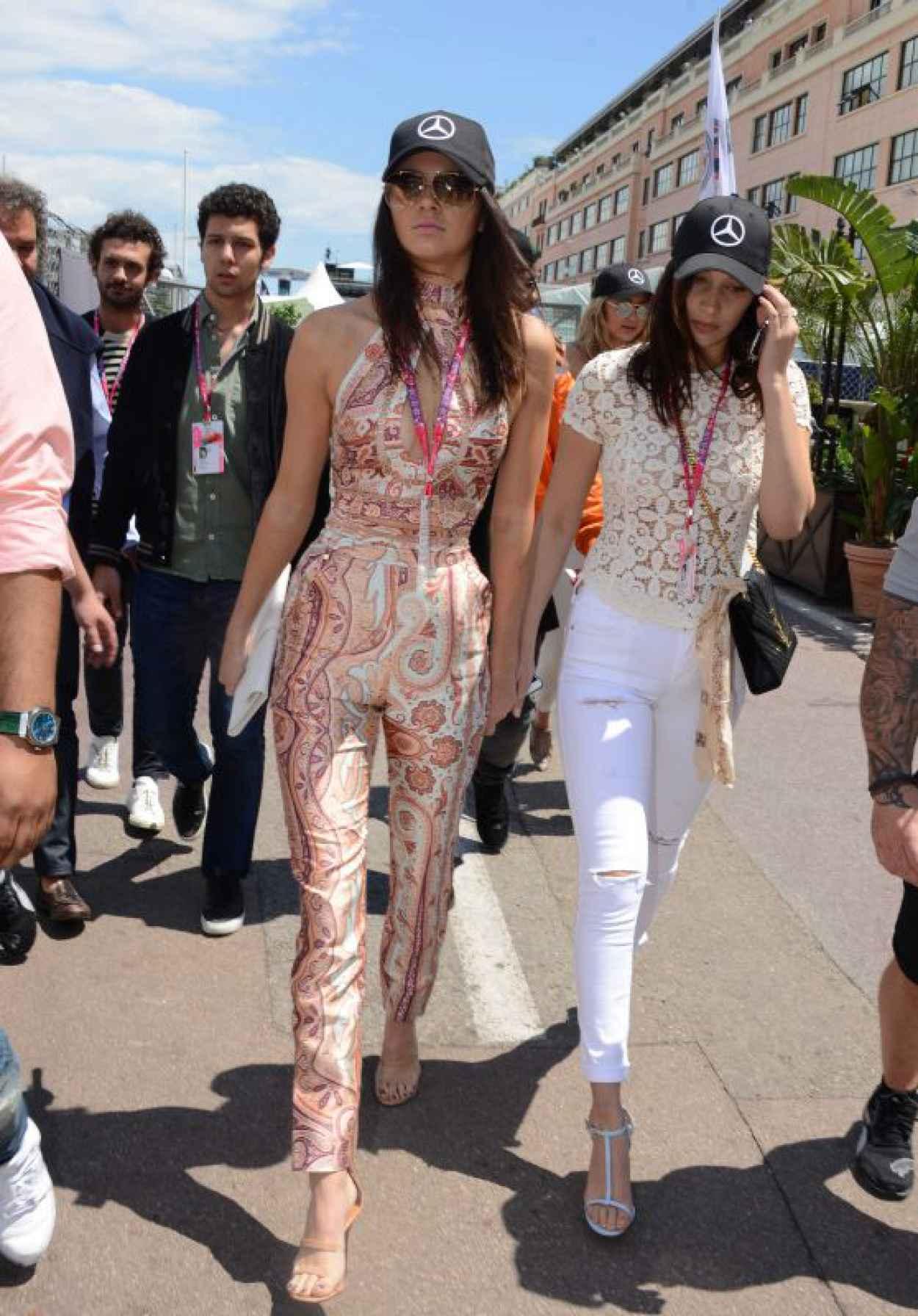 Kendall Jenner, Bella Hadid and Gigi Hadid - F1 Grand Prix of Monaco in Monte-Carlo, May 2015-1