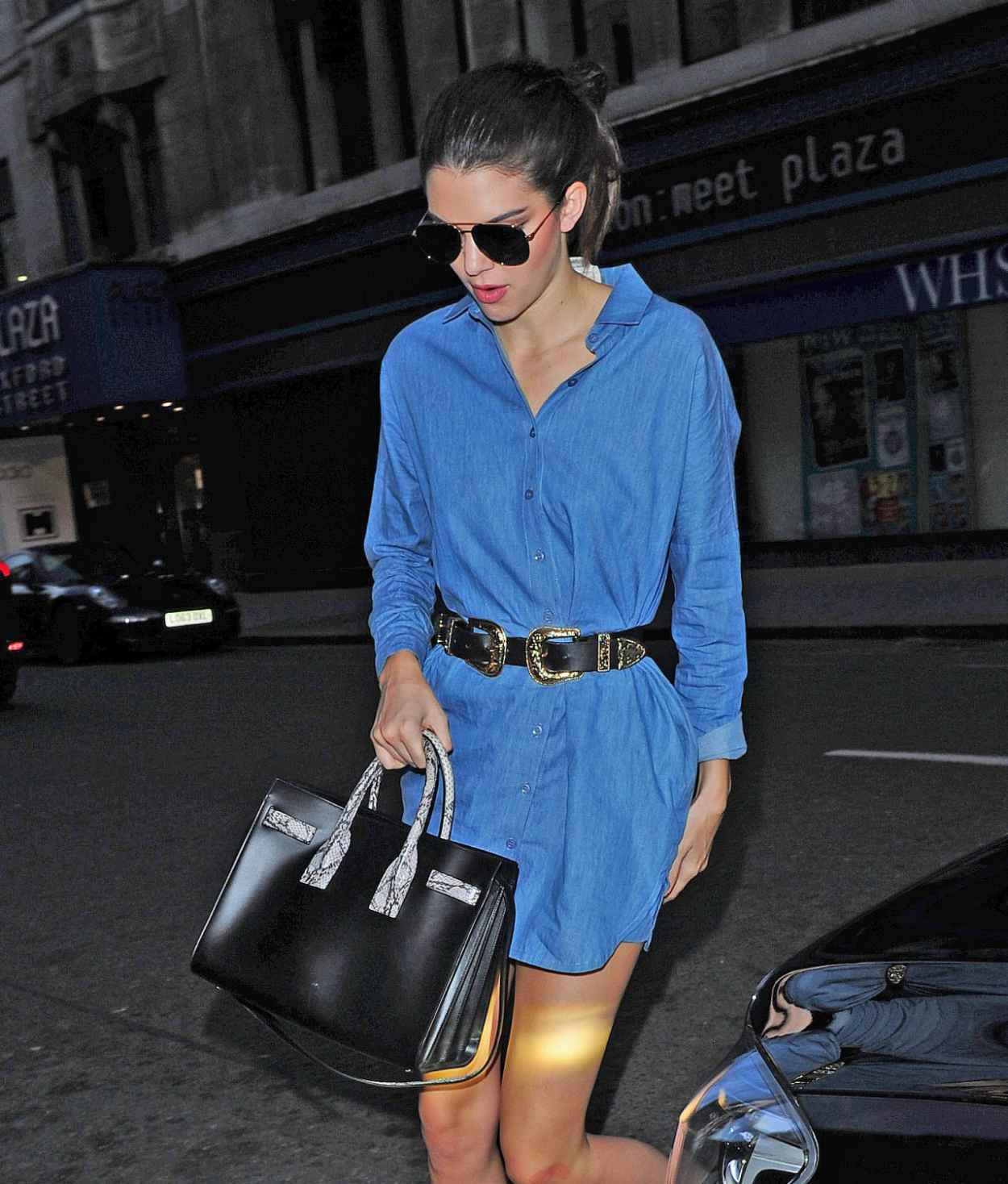 Kendall Jenner - Outside Her Hotel in London, July 2015-2