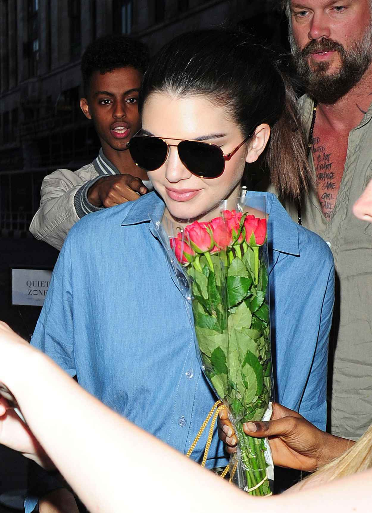 Kendall Jenner - Outside Her Hotel in London, July 2015-3