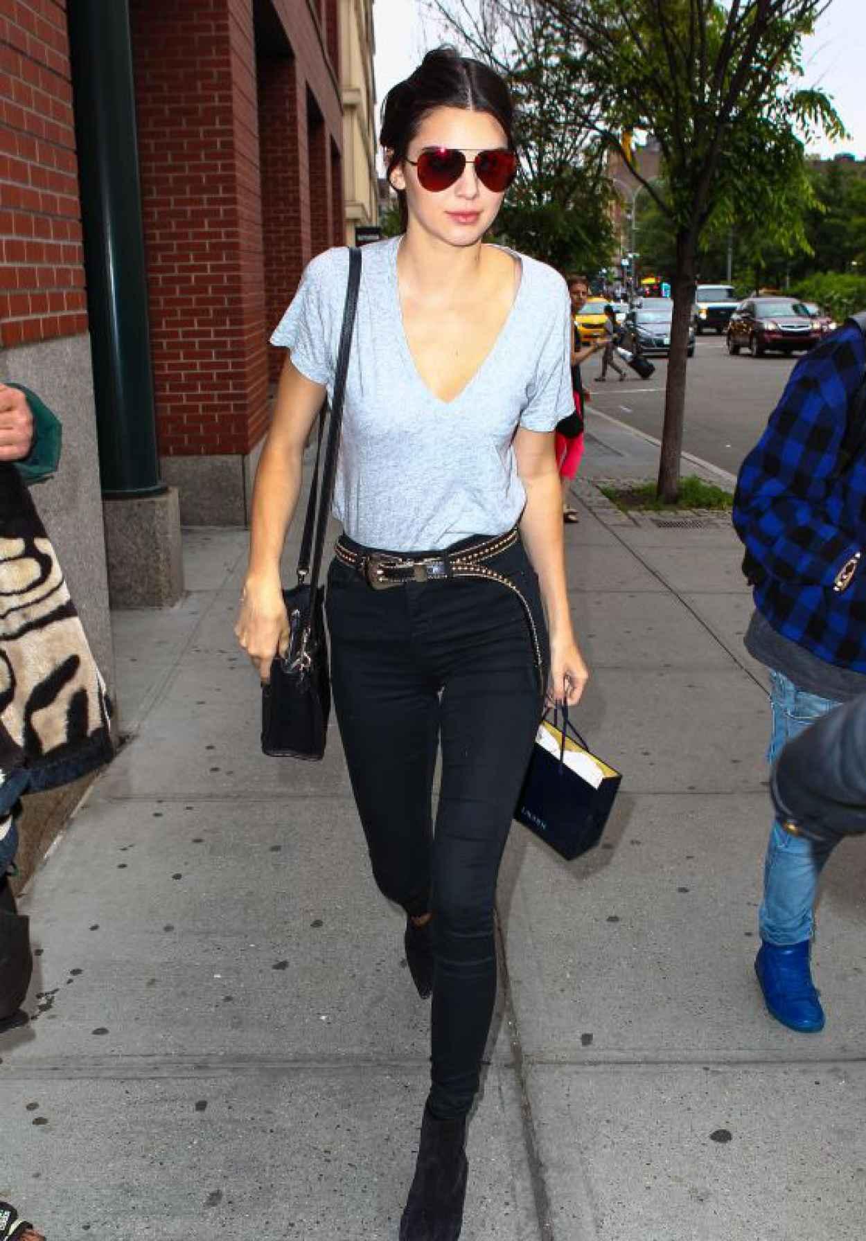 Kendall Jenner Street Style New York City June 2015