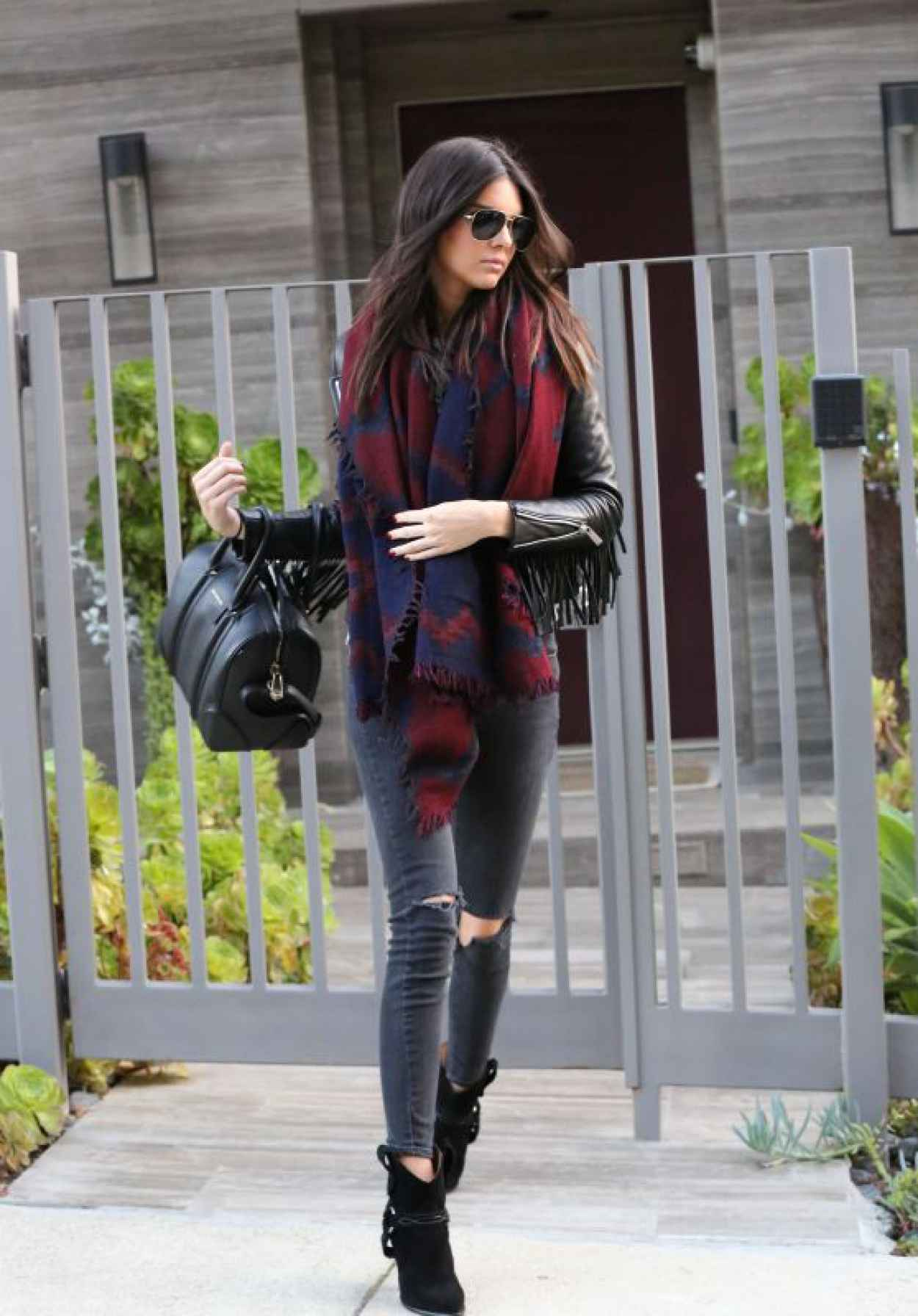 Kendall Jenner Street Style Out In Beverly Hills May
