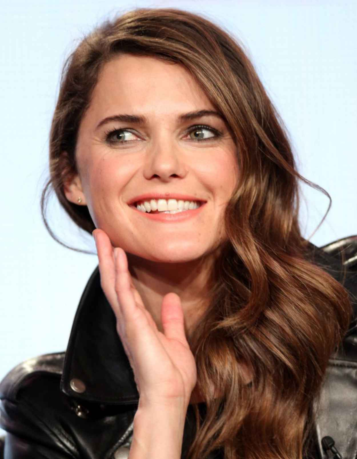 Keri Russell Attends Winter TCA Tour: Day 6 in Pasadena (2014)-1