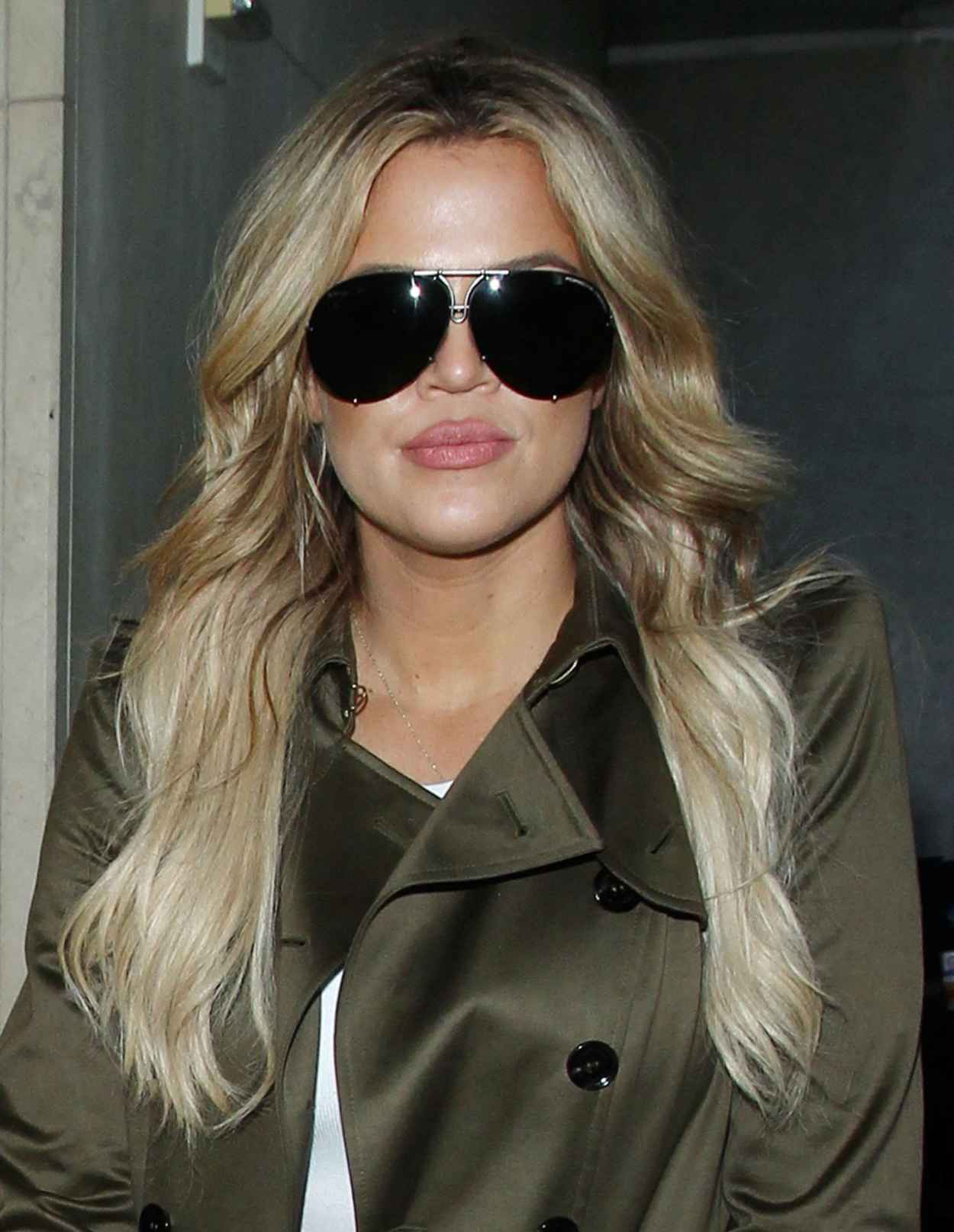 Khloe Kardashian - LAX Airport in Los Angeles, May 2015-5