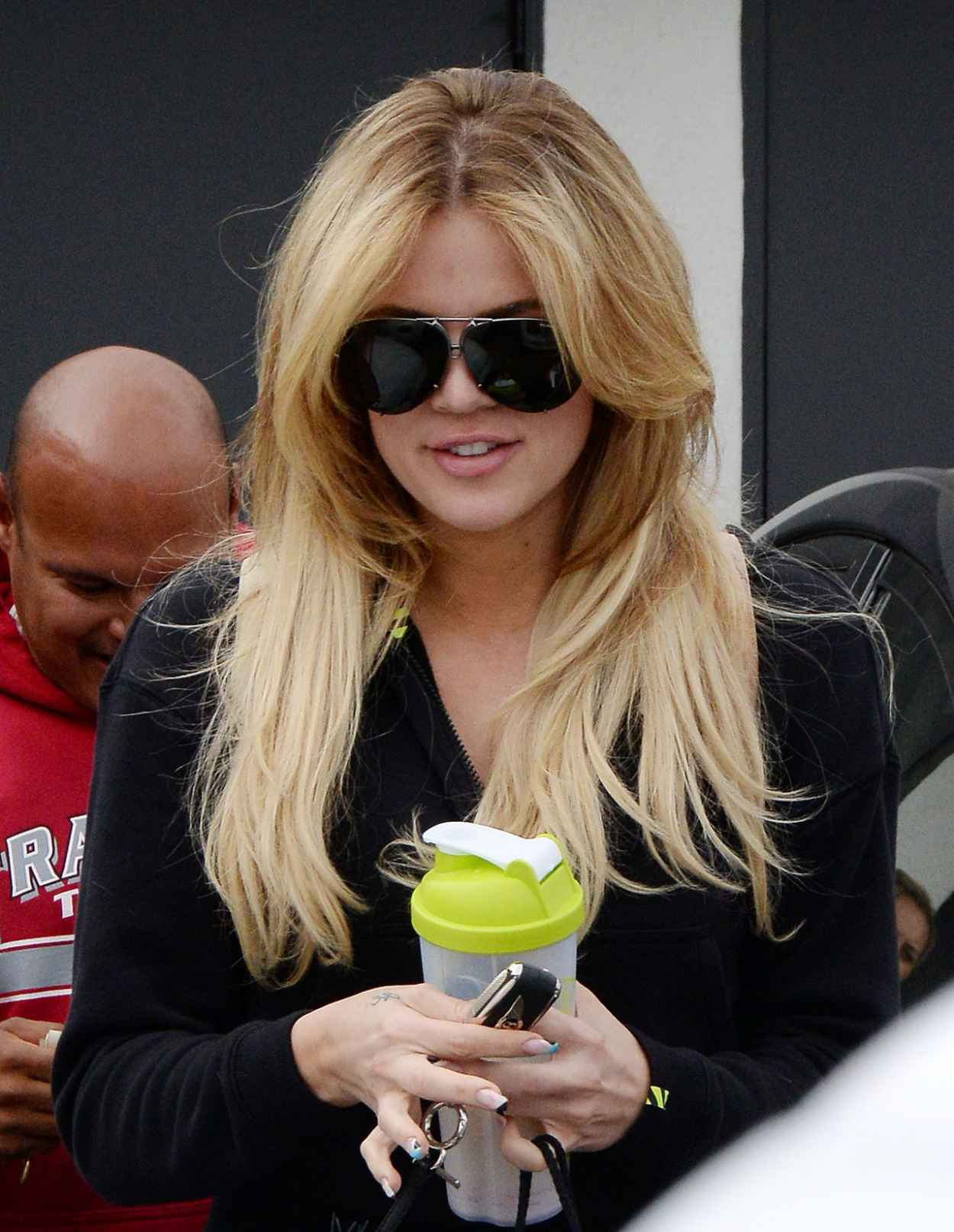 Khloe Kardashian - Leaving a Hair Salon After Getting Her Hair Done in Beverly Hills, June 2015-4