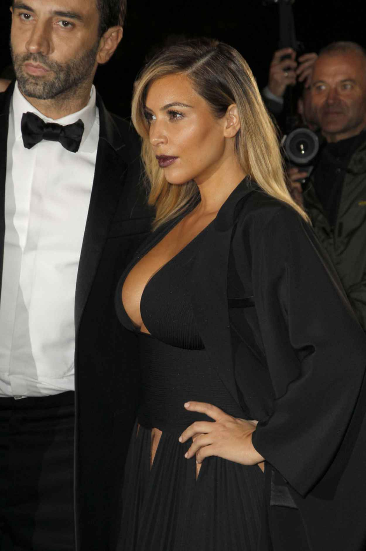 Kim Kardashian in Givenchy, The Paris Premiere of Mademoiselle C-1
