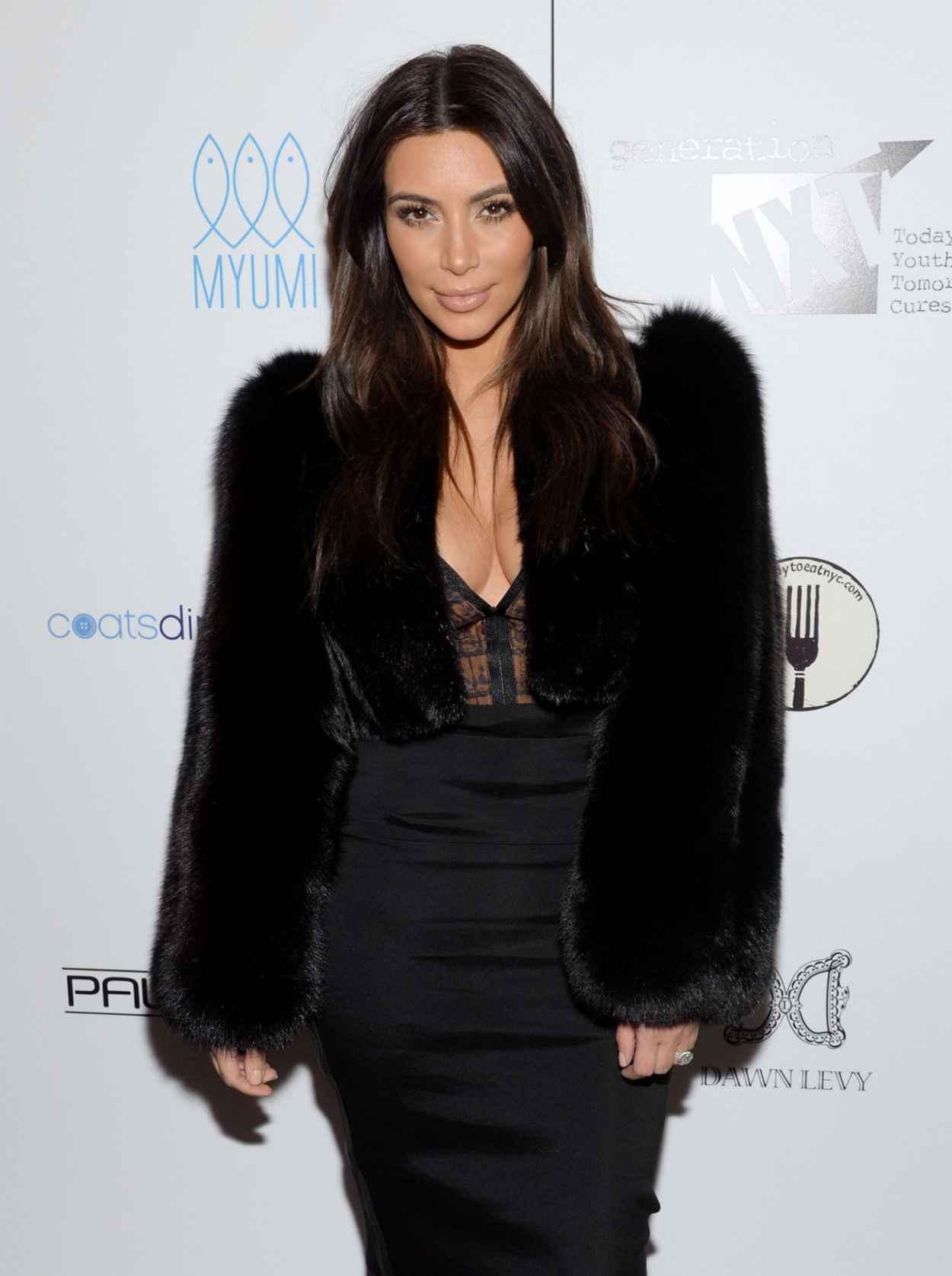 Kim Kardashian - Generation NXT Charity Benefit in New York - February 2015-1