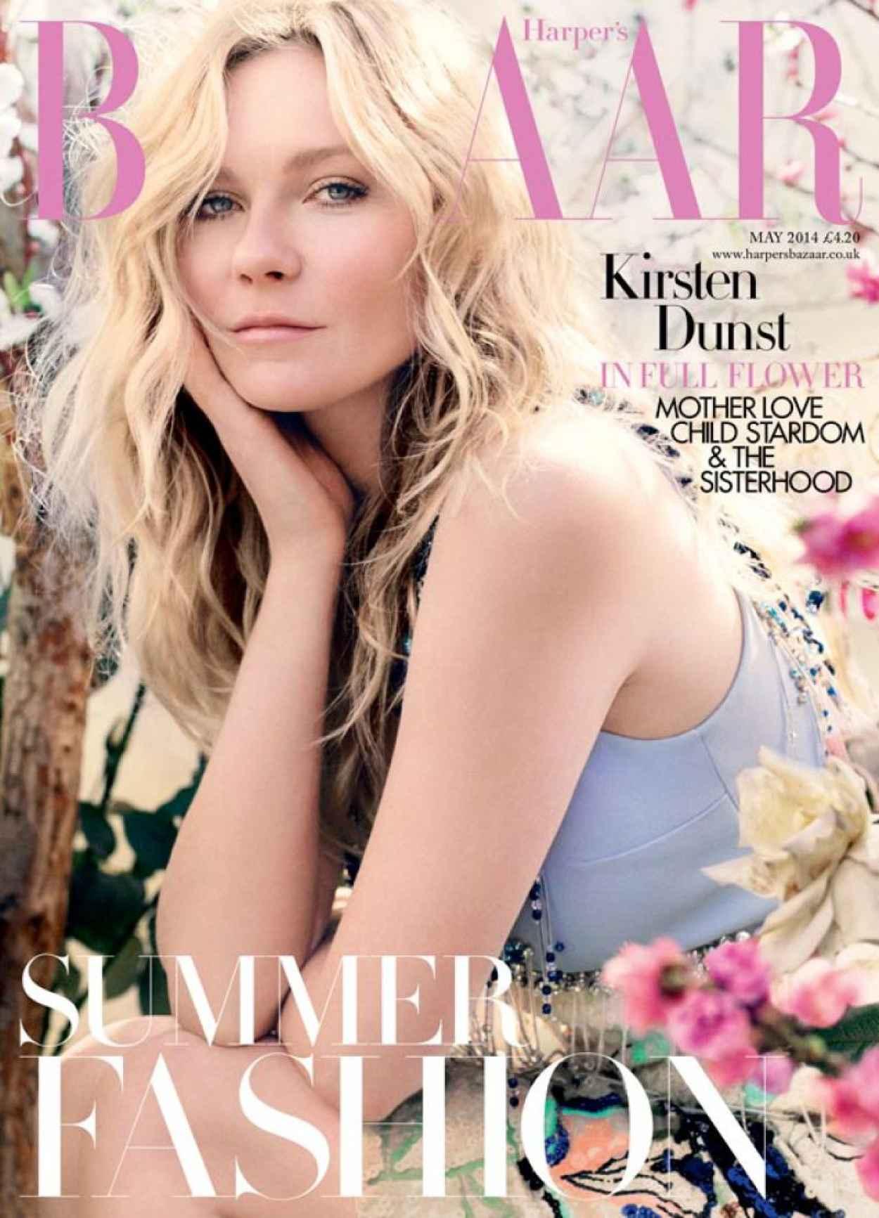 Kirsten Dunst - Harpers Bazaar Magazine (UK) May 2015 Issue-1