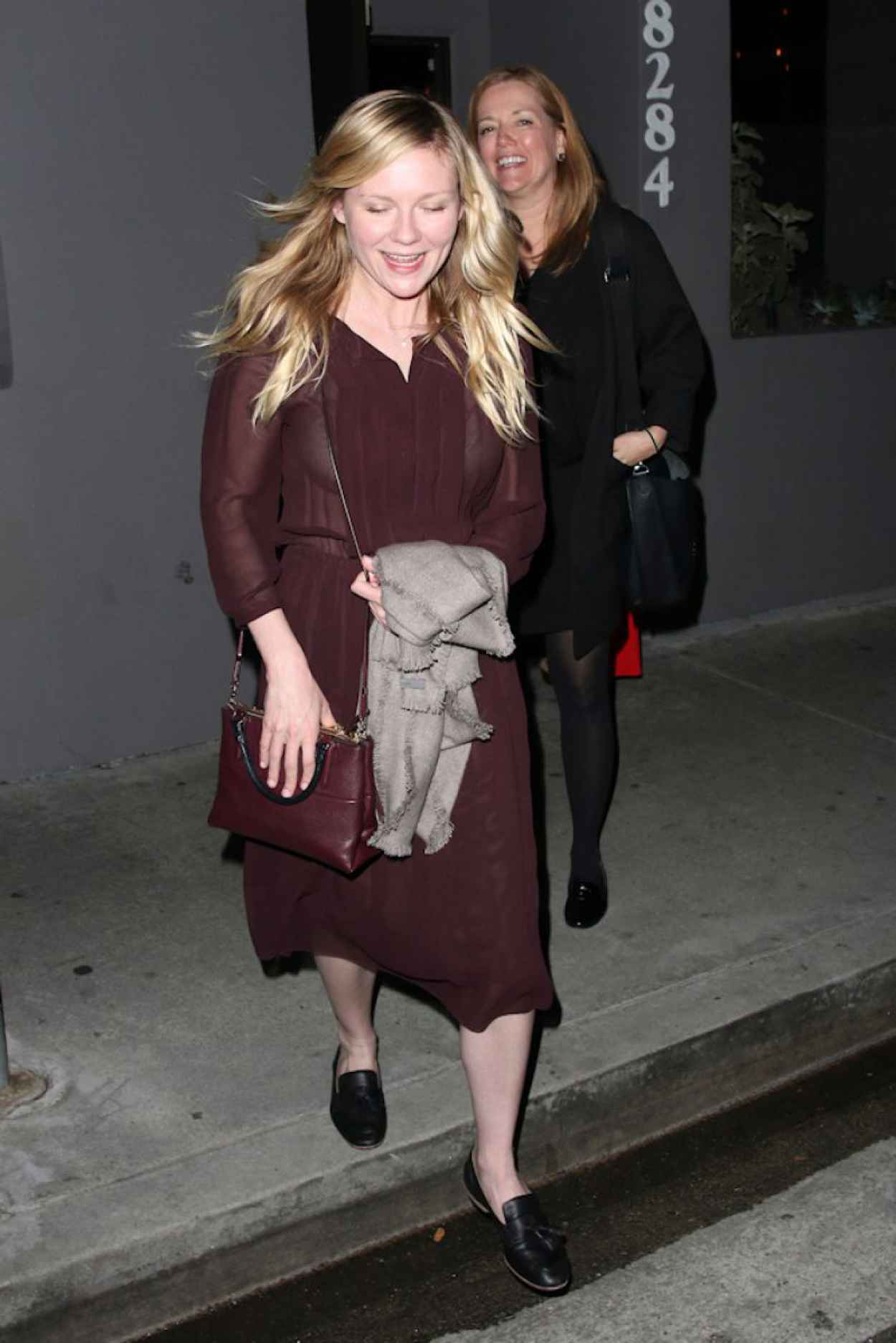 Kirsten Dunst Night Out Style - Crossroads in Los Angeles-1