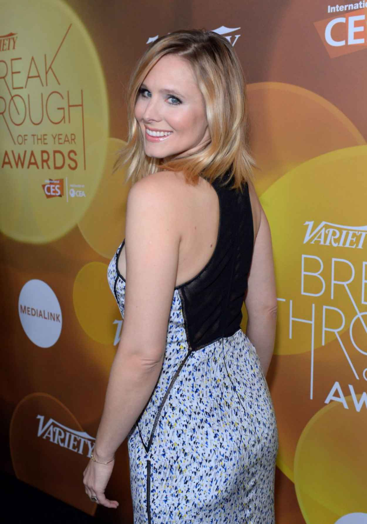 Kristen Bell - 2015 Variety Breakthrough Of The Year Awards in Vegas - Jan. 2015-1