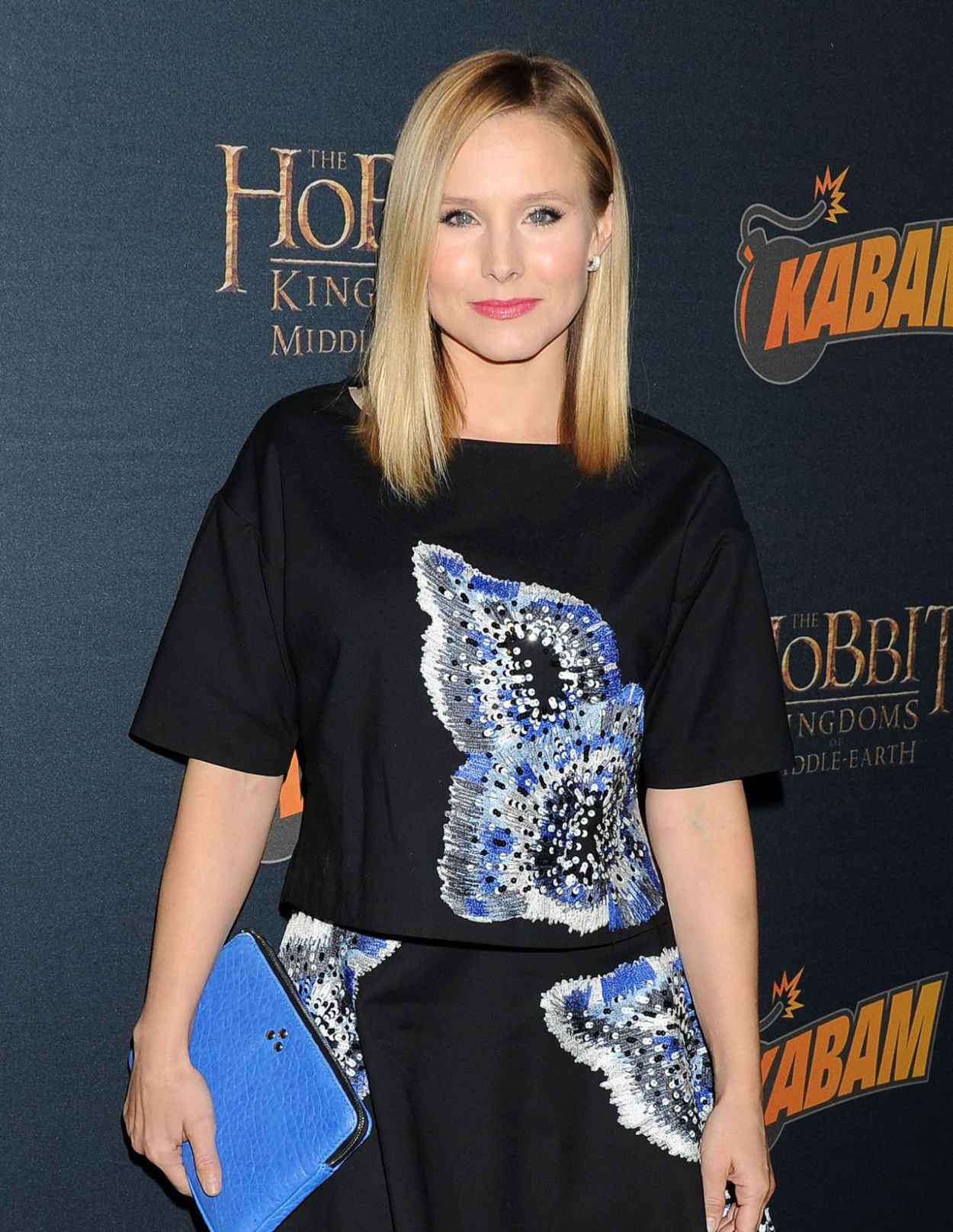 Kristen Bell at THE HOBBIT: THE DESOLATION OF SMAUG Expansion Kabam Mobile Game Party - Dec. 2015-1