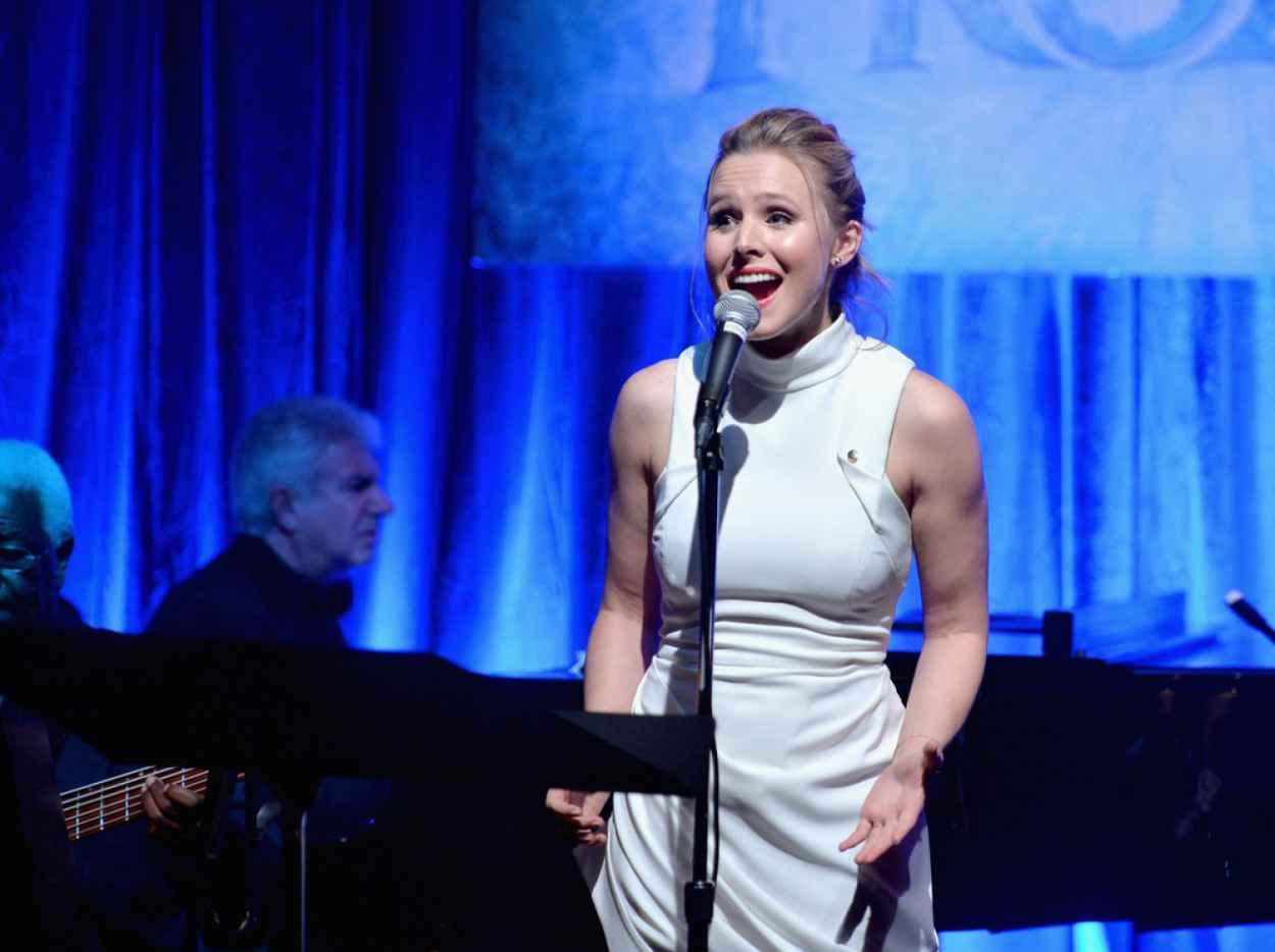 Kristen Bell - The Celebration of the Music of Disneys FROZEN - Los Angeles, February 2015-1