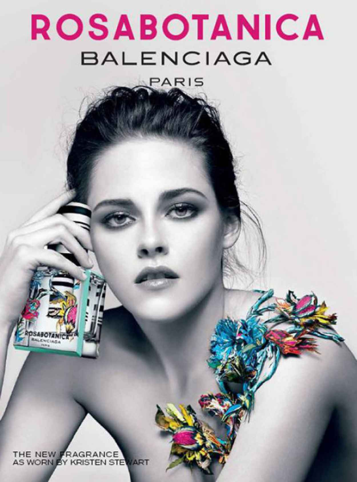 Kristen Stewart - Promoshoot for Florabotanica Balenciaga Fragrance-1