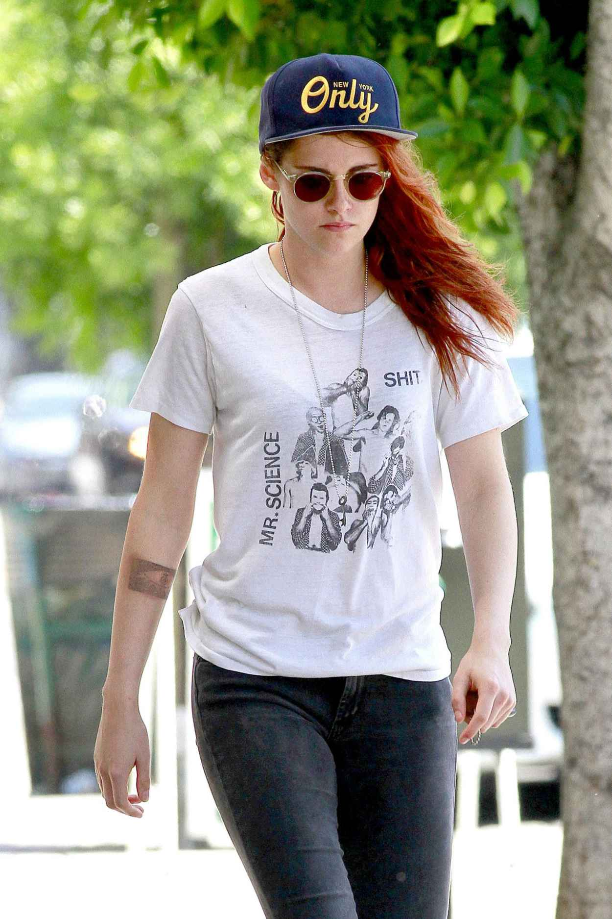 Kristen Stewart Street Style Out In La June 2015