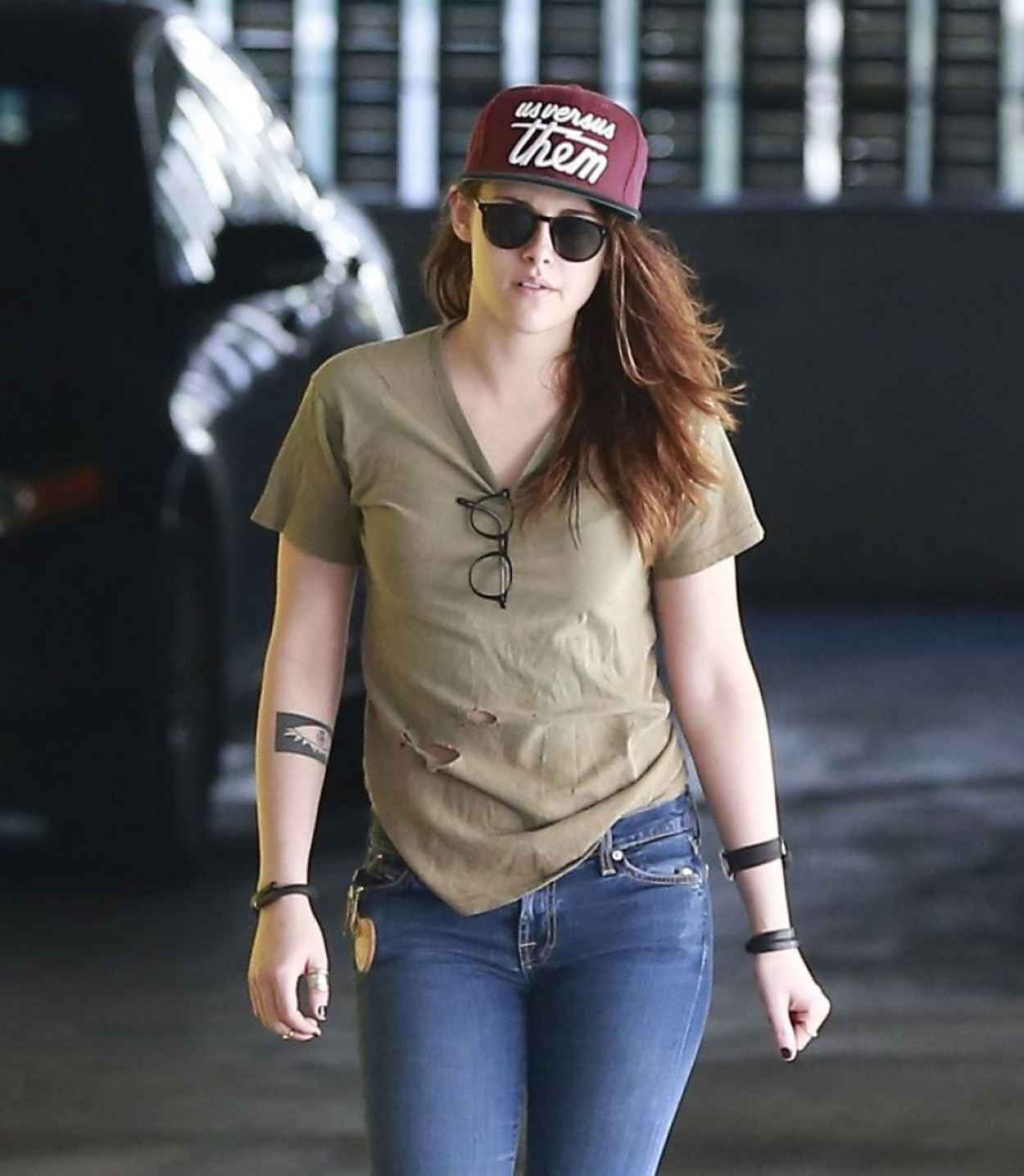 Kristen Stewart Street Style West Hollywood February 2015