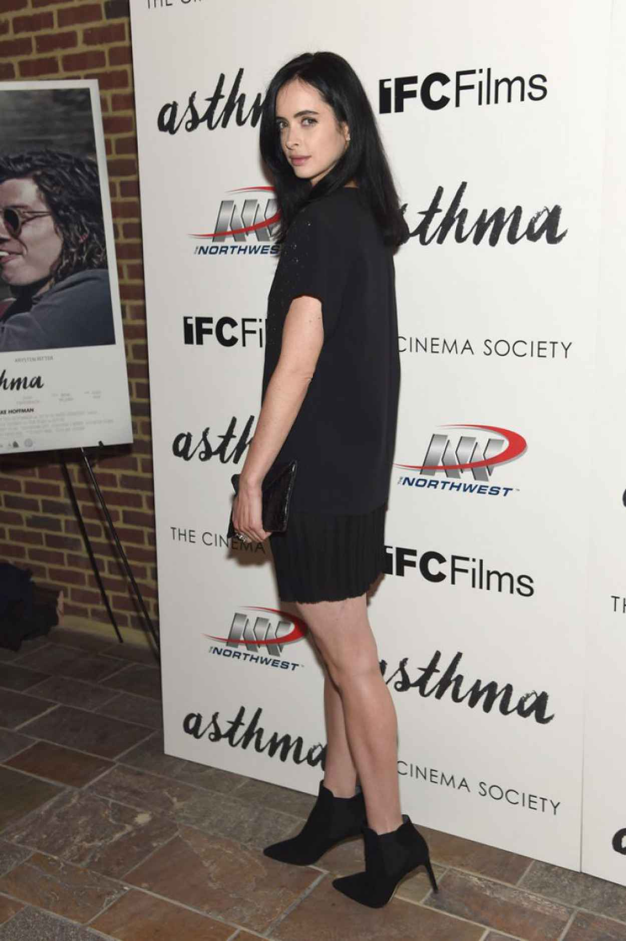 Krysten Ritter - Asthma Screening in NYC-3