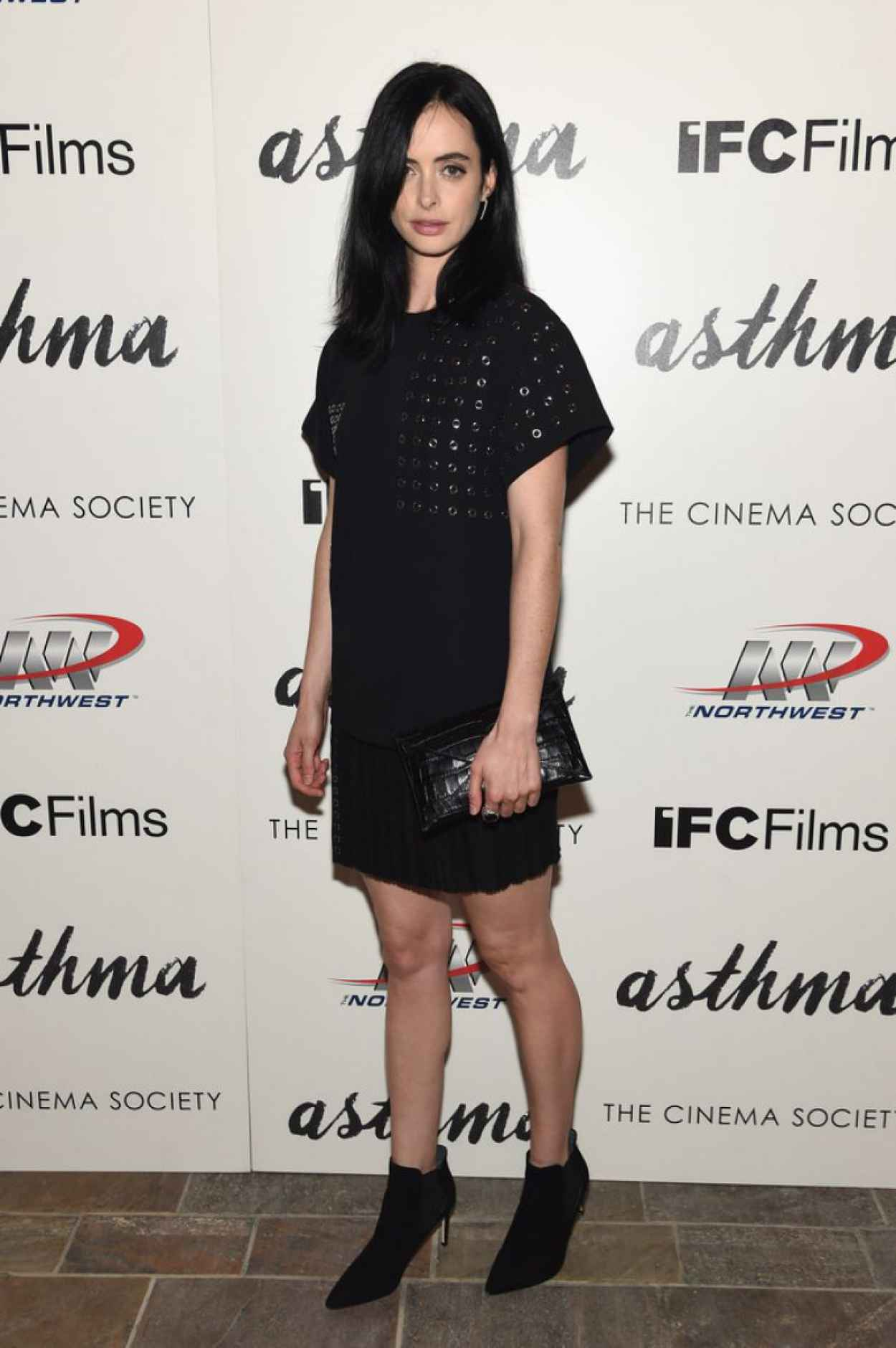 Krysten Ritter - Asthma Screening in NYC-5