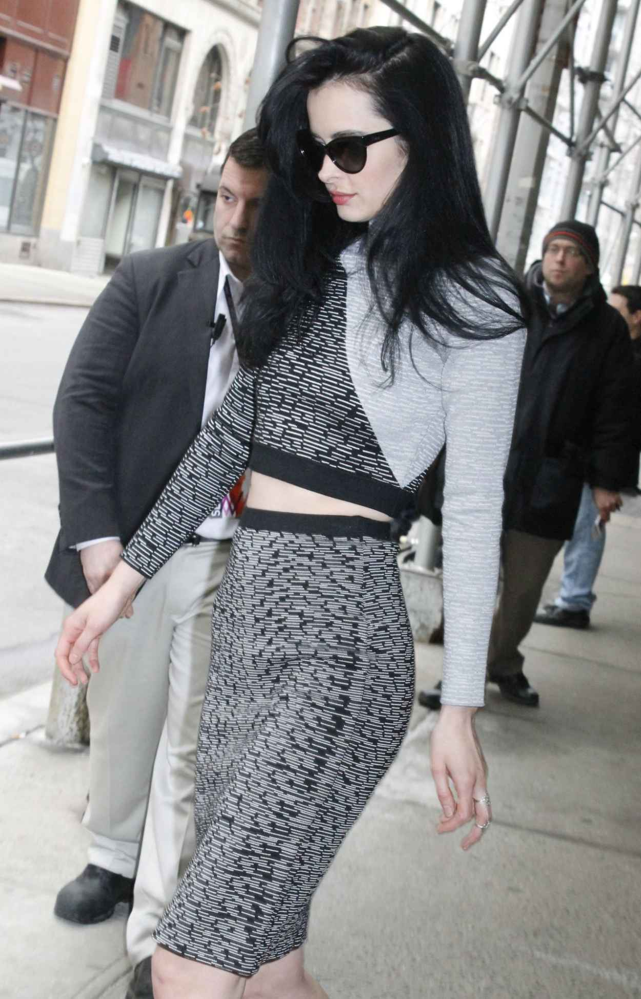 Krysten Ritter at The Wendy Williams Show Studios in New York City-1