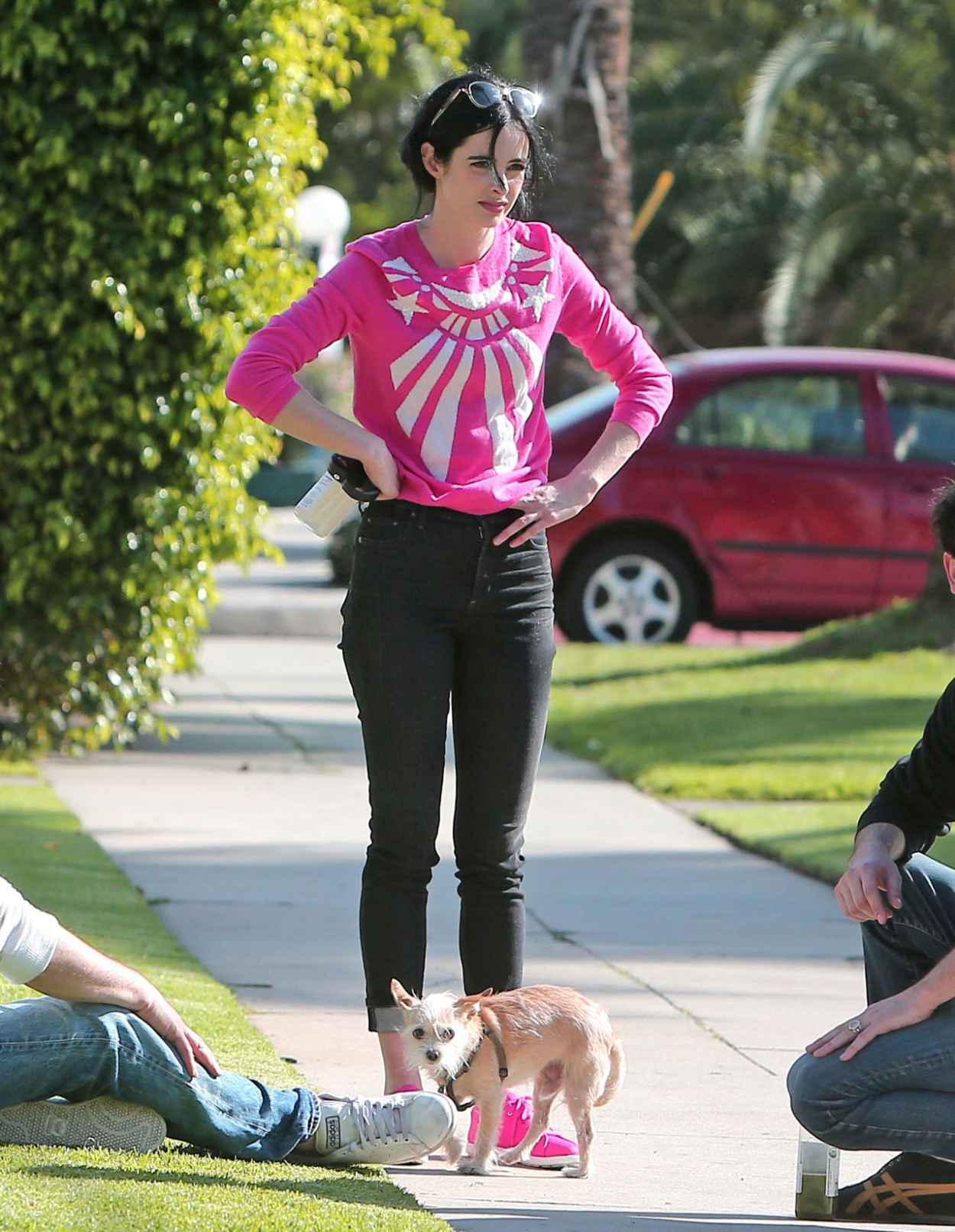Krysten Ritter - Booty in Jeans - Los Feliz, March 2015-1