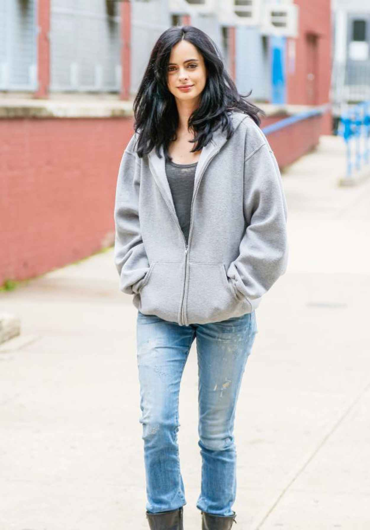 Krysten Ritter - Set of A.K.A. Jessica Jones in New York City, July 2015-1