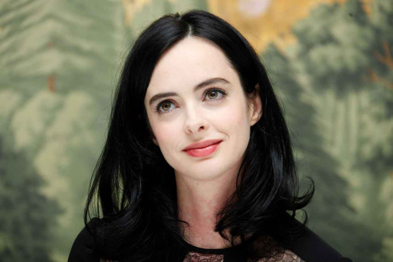 Krysten Ritter Style - Jessica Jones Press Conference at the London Hotel in NYC-4