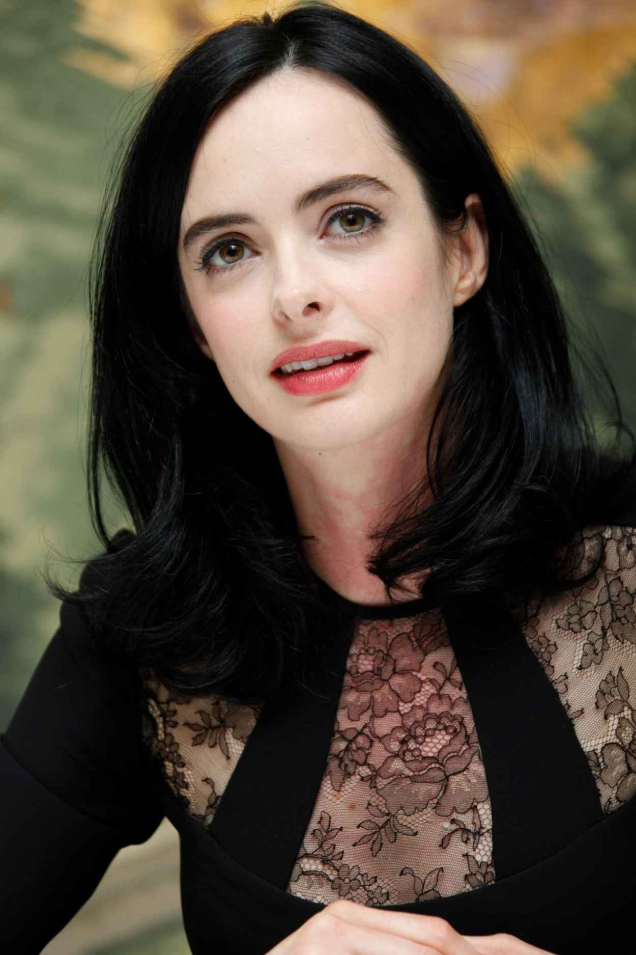 Krysten Ritter Style - Jessica Jones Press Conference at the London Hotel in NYC-5