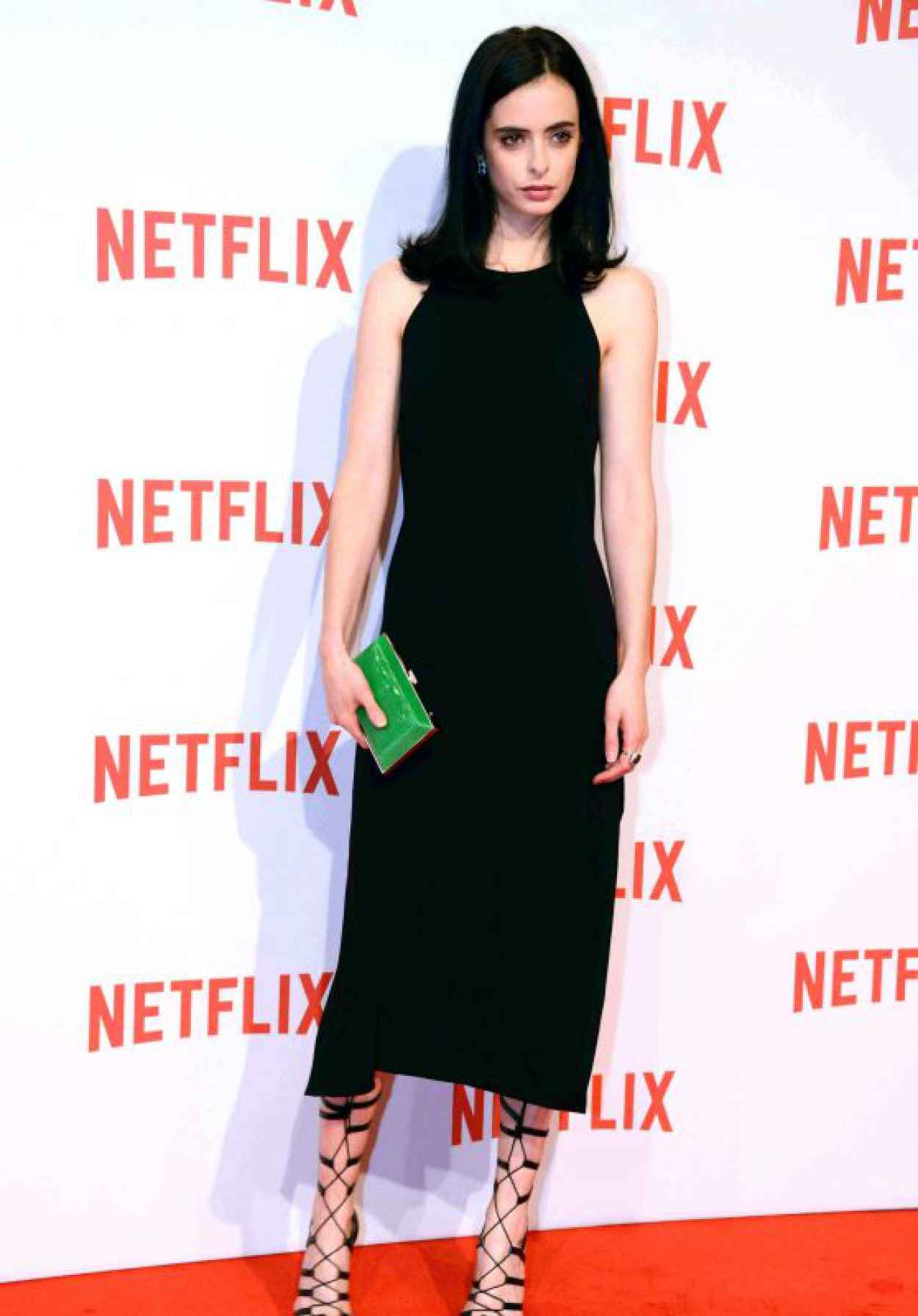 Krysten Ritter - The Netflix Launch at Palazzo Del Ghiaccio in Milan, Italy, October 2015-1