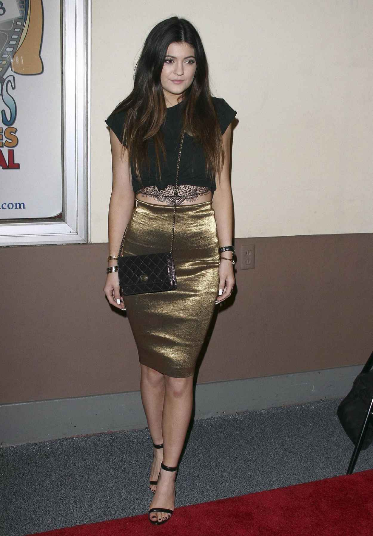 Kylie Jenner Red Carpet Photos - All-Sports Film Festival Gala in Hollywood-1