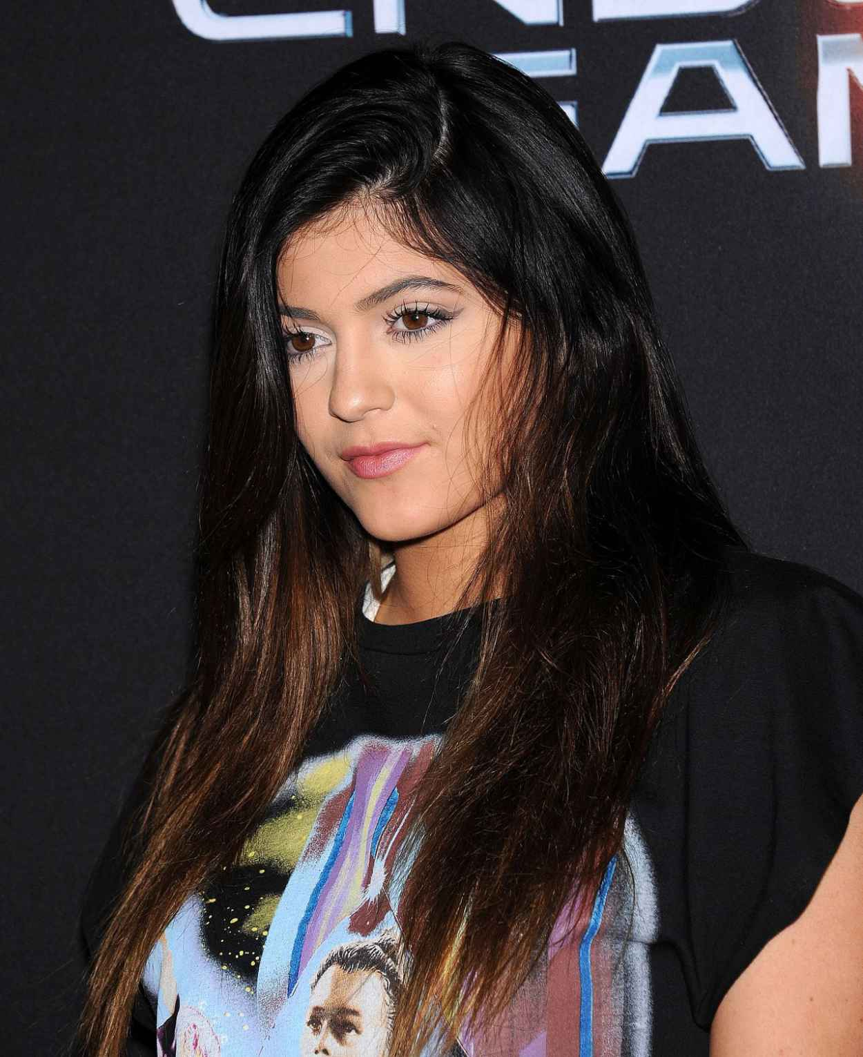 Kylie Jenner Red Carpet Photos - ENDER-S GAME - Los Angeles Premiere-1