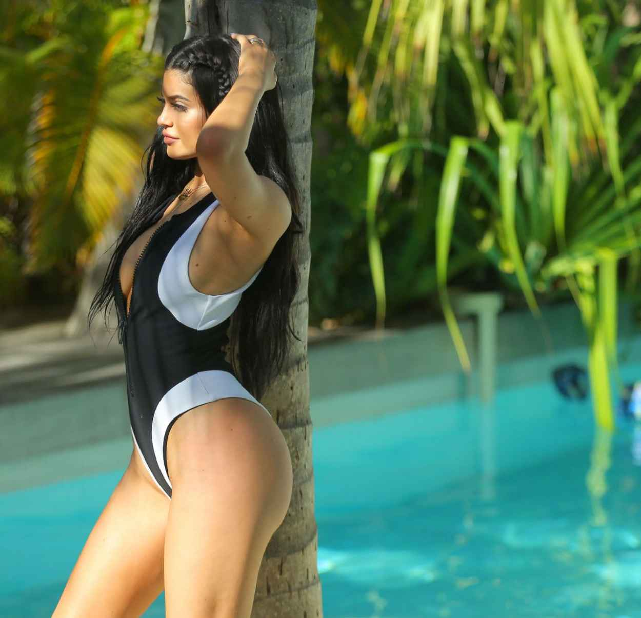 Kylie Jenner Swimsuit Photoshoot in St. Barts - August 2015-5