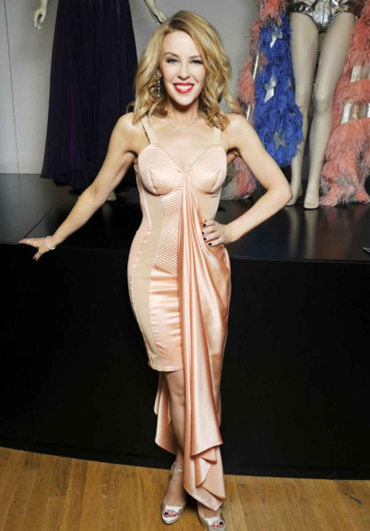 Kylie Minogue - Attends the Jean Paul Gaultier Exhibition : Photocall, March 2015-1