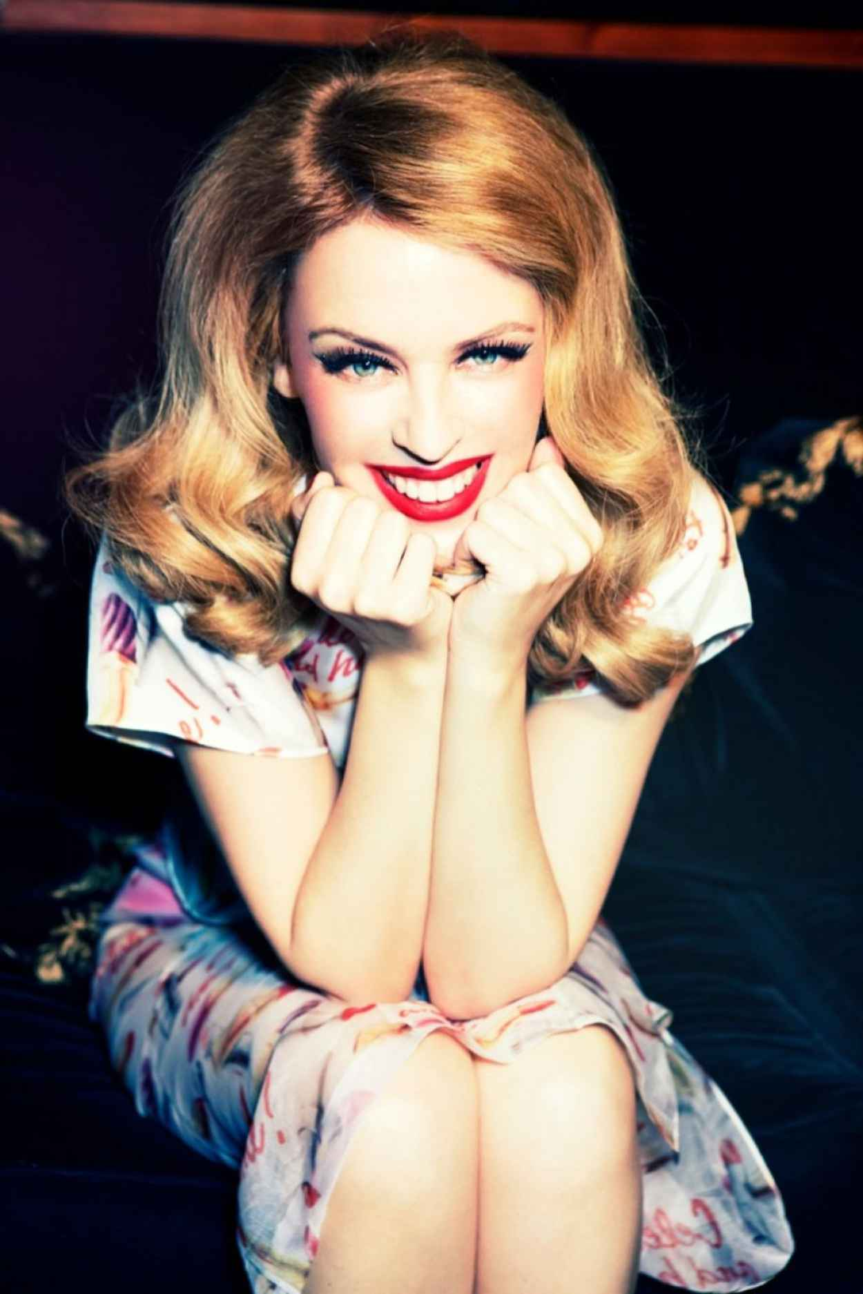 Kylie Minogue - GQ Magazine (Germany) - December 2015 Issue-1