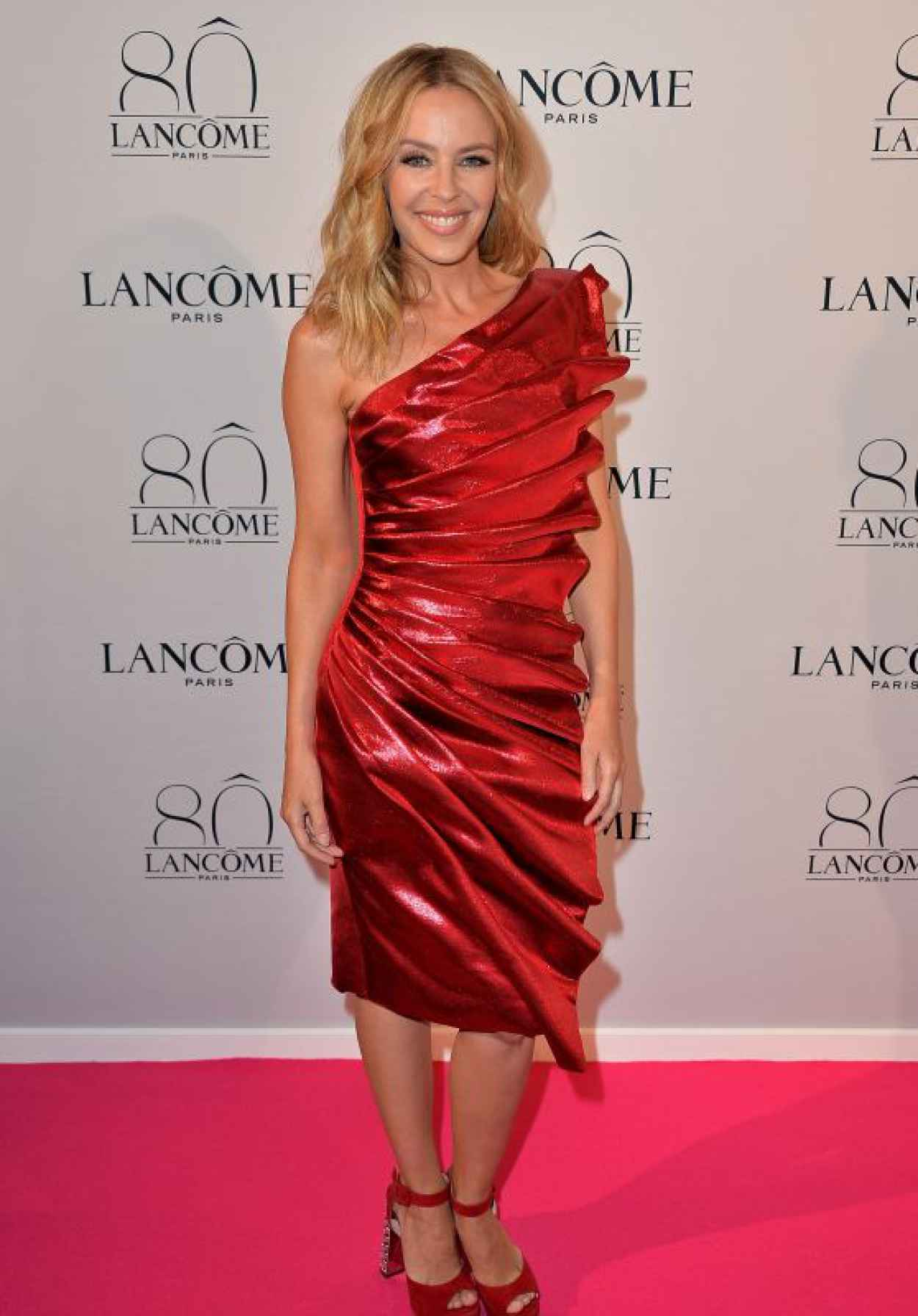Kylie Minogue - Lancome Celebrates 80 Years of Beauty event in Paris-1