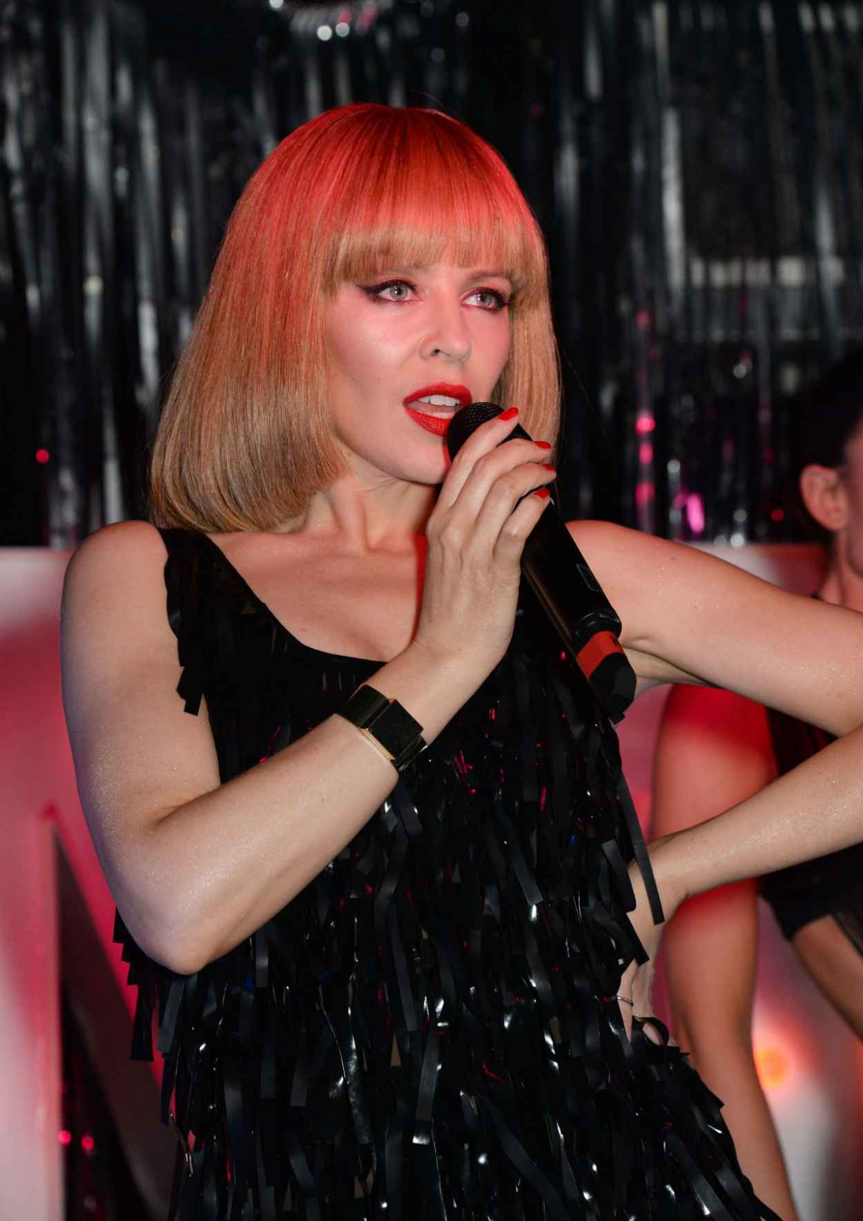 Kylie Minogue - Performance at The Old Blue Last Pub - London, February 2015-1