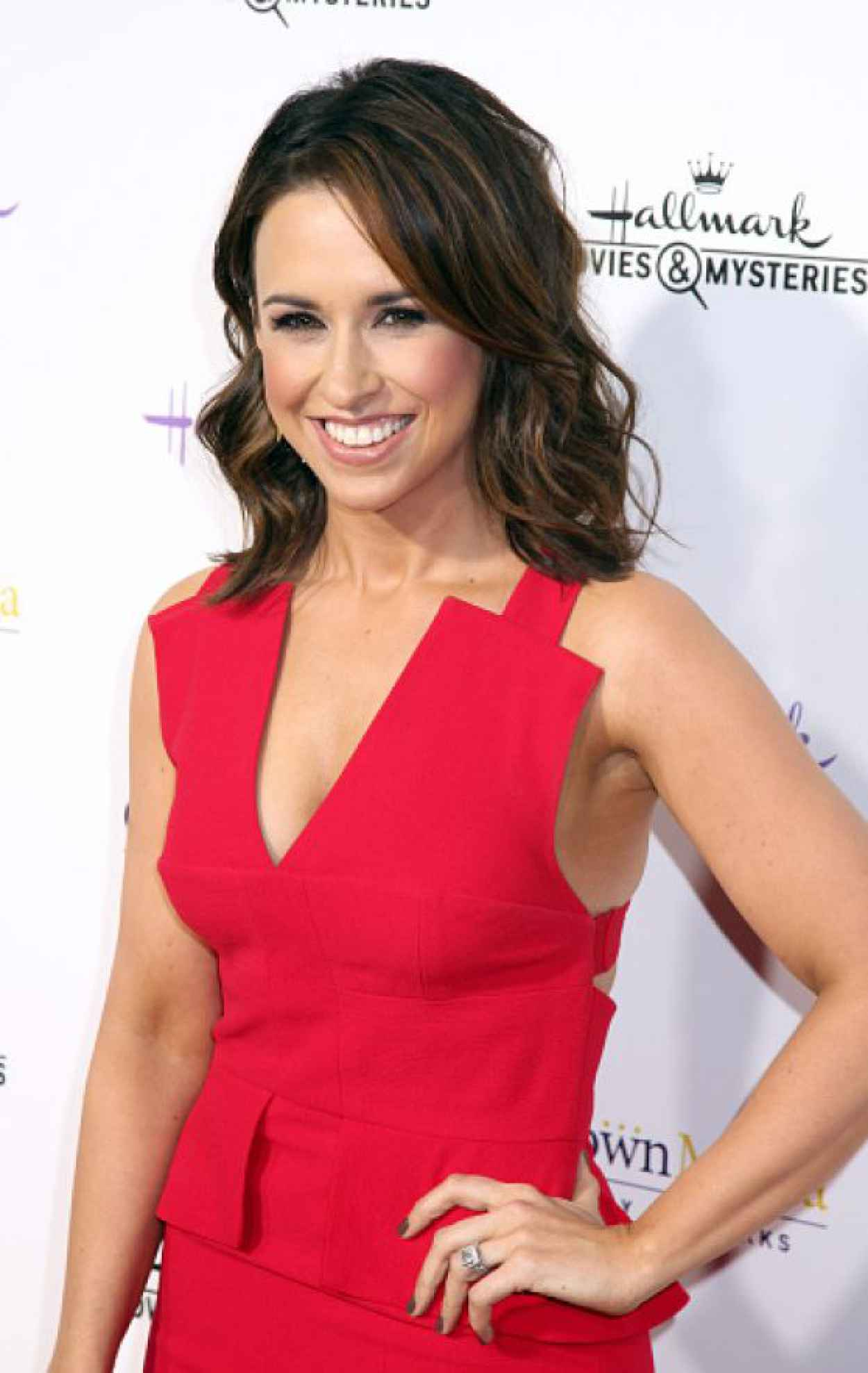 Lacey Chabert - Hallmark Channel TCA Press Tour 2015 in Pasadena-1