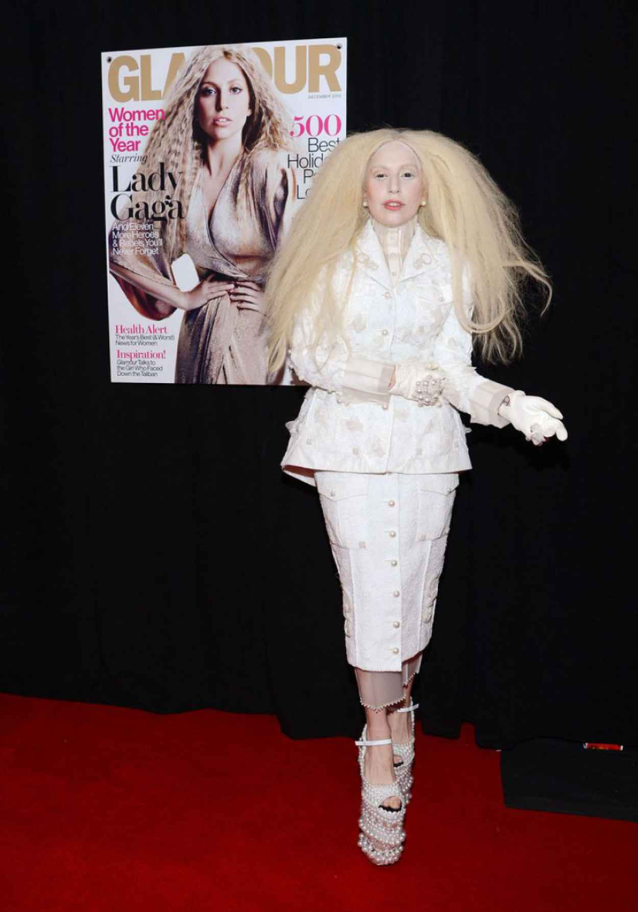 Lady Gaga Attends Glamours 23rd annual Women of the Year Awards in New York City-1