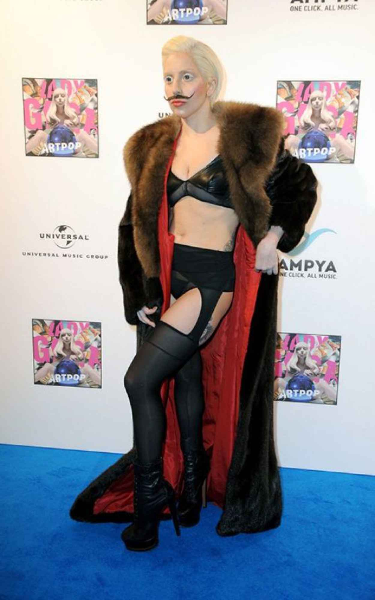 Lady Gaga Red Carpet Photos - Artpop Listening Party in Berlin-1