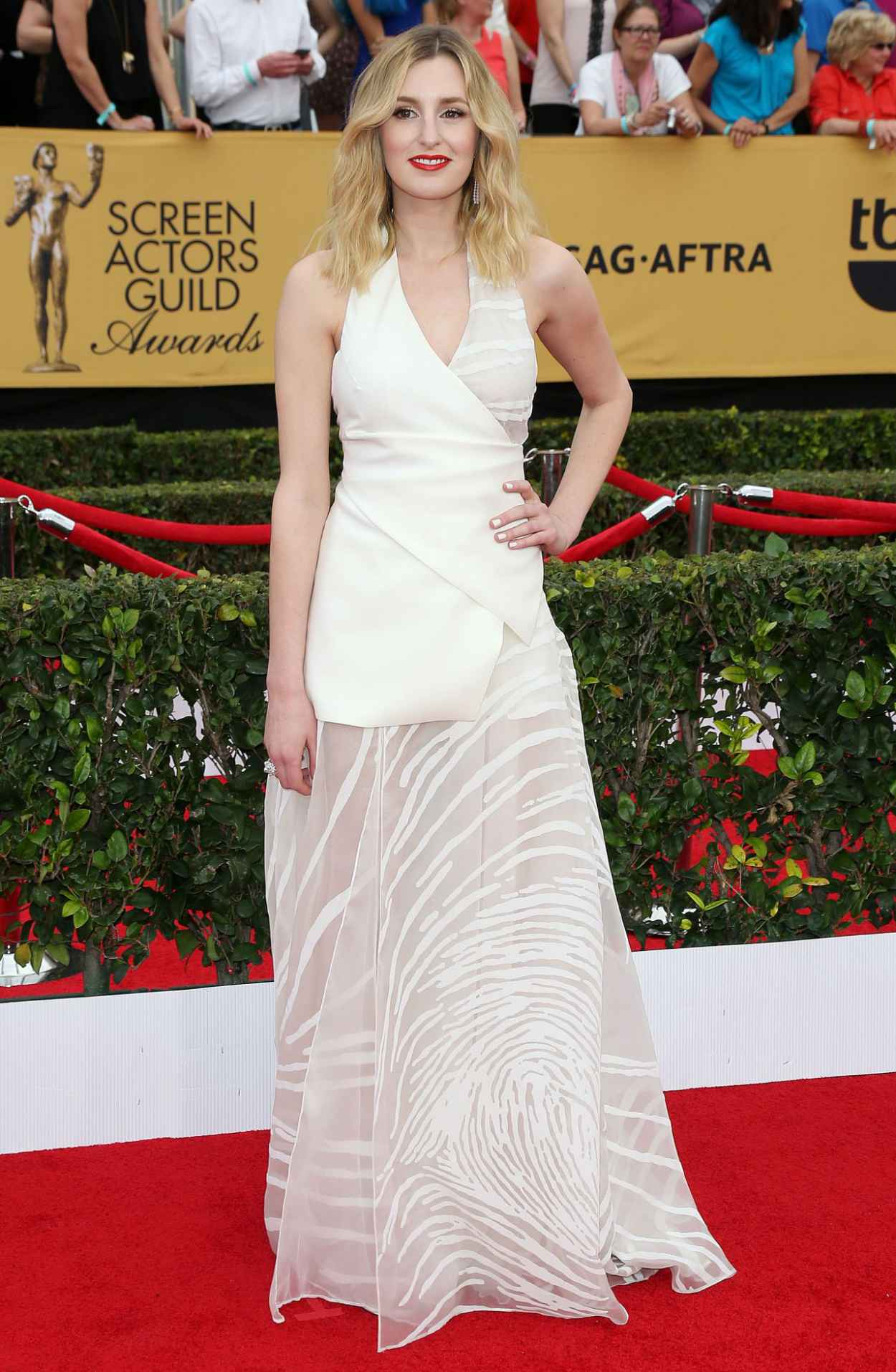 Laura Carmichael - 2015 SAG Awards in Los Angeles-5