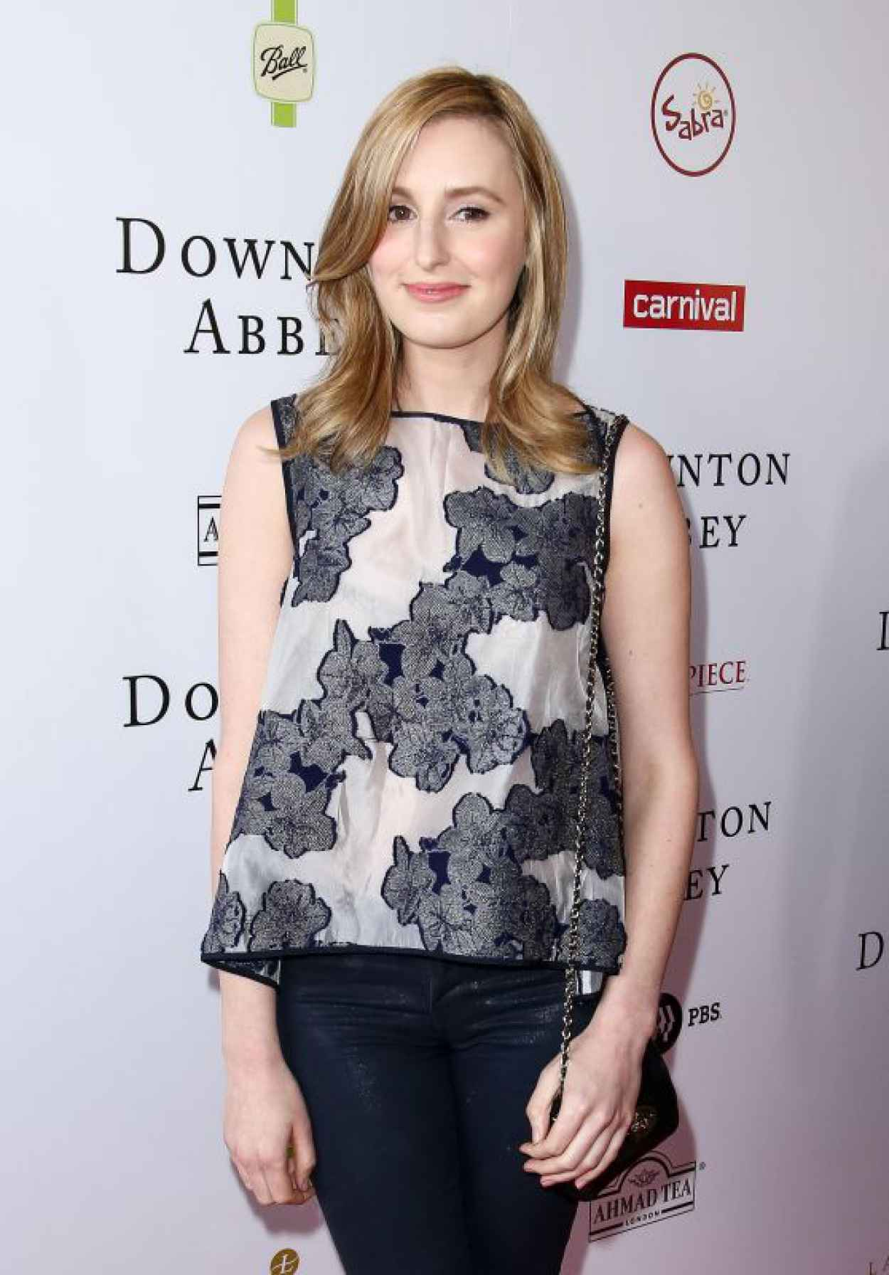 Laura Carmichael - An Afternoon With Downton Abbey Talent Panel Q&A in Beverly Hills-1