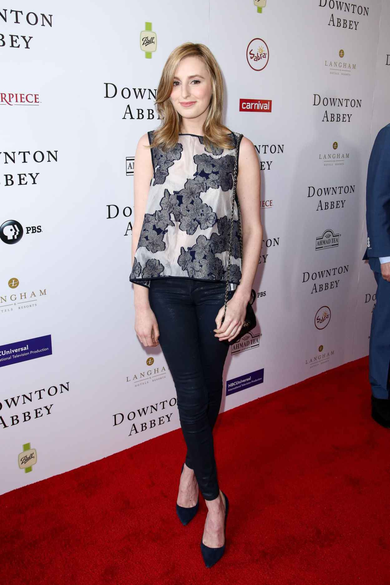 Laura Carmichael - An Afternoon With Downton Abbey Talent Panel Q&A in Beverly Hills-4