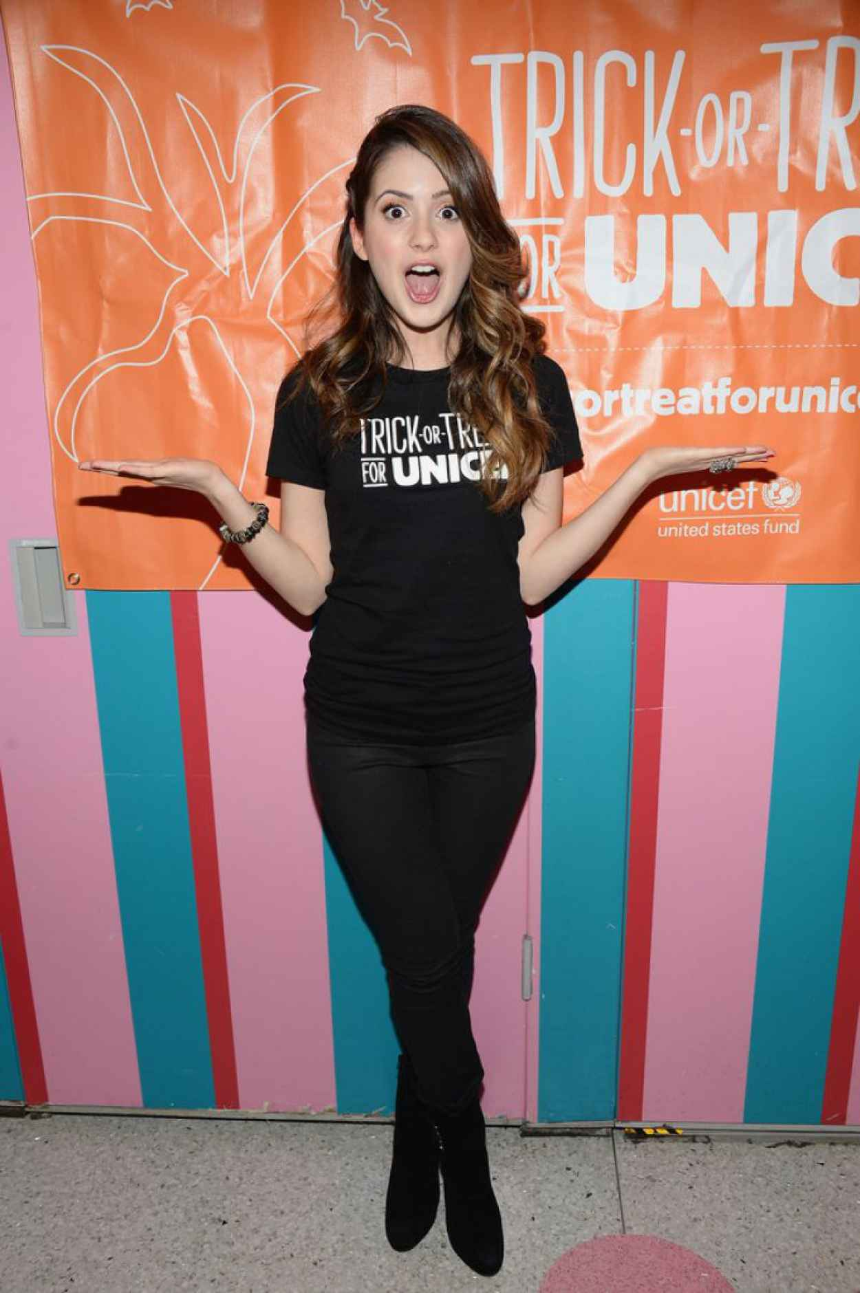 Laura Marano - 63rd Trick-or-Treat for UNICEF Campaign-1