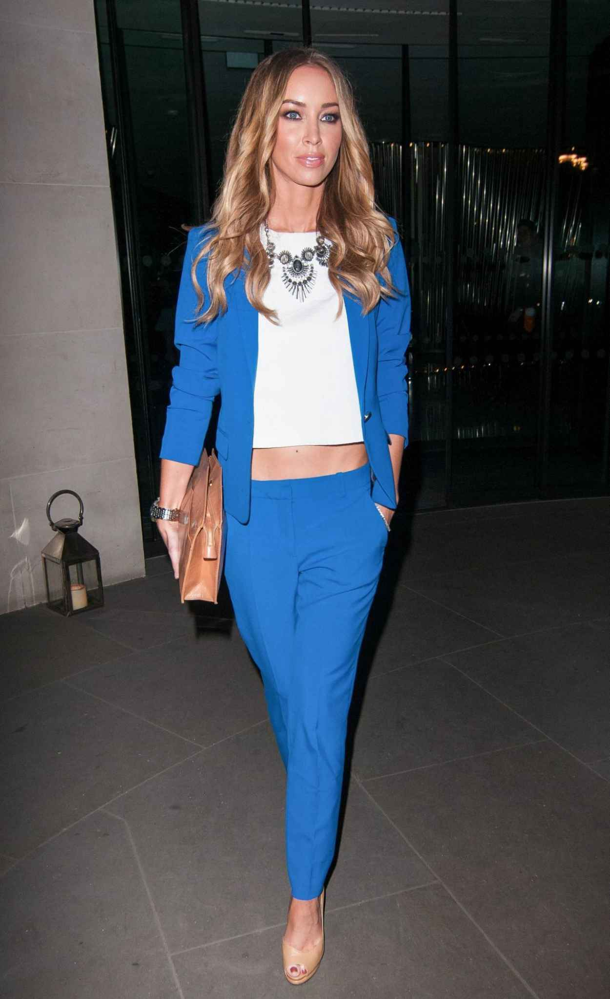 Lauren Pope Night Out Style - Out in London, February 2015-1