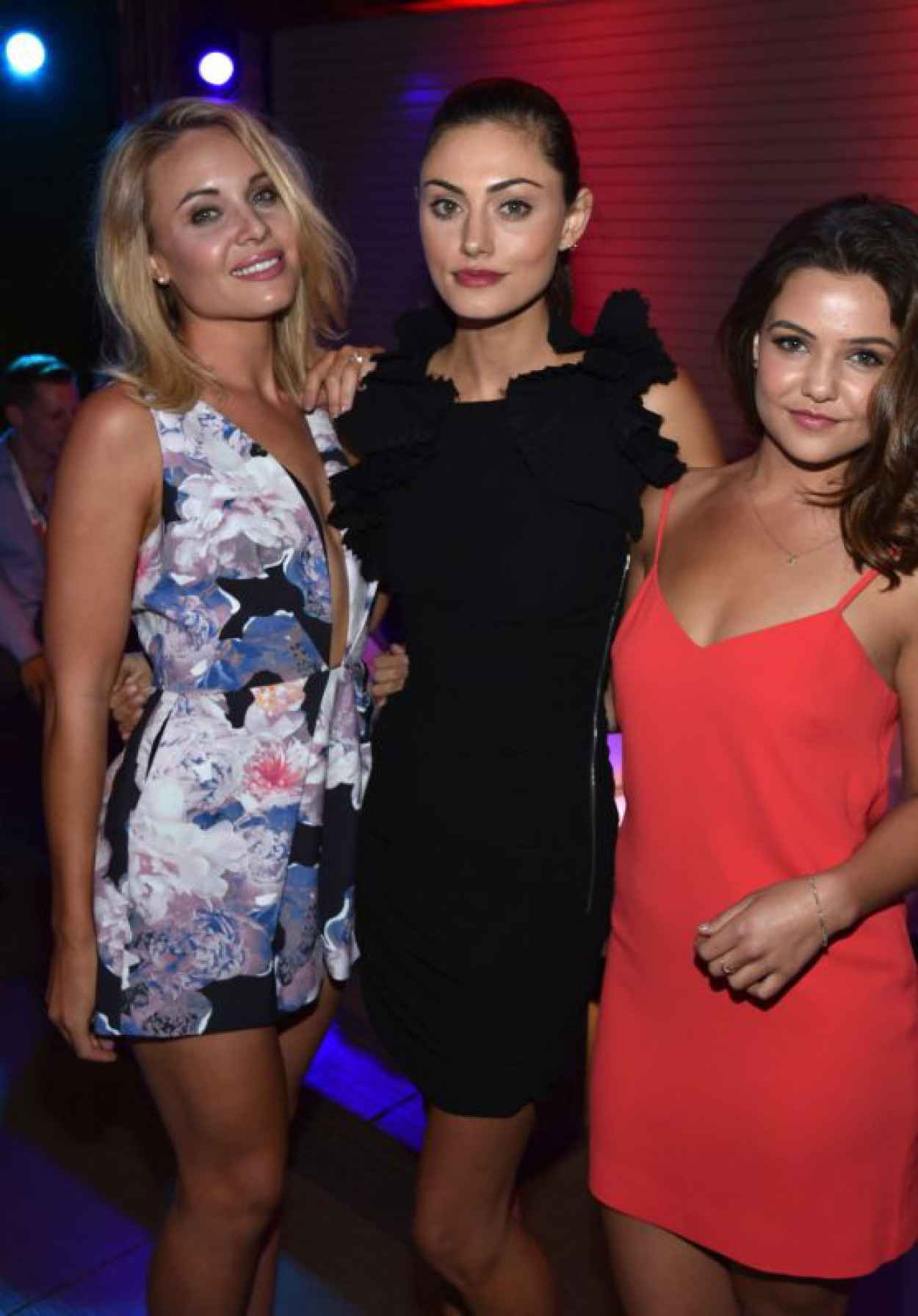 Leah Pipes, Phoebe Tonkin, and Danielle Campbell - 2015 MTV Fandom Awards in San Diego-1